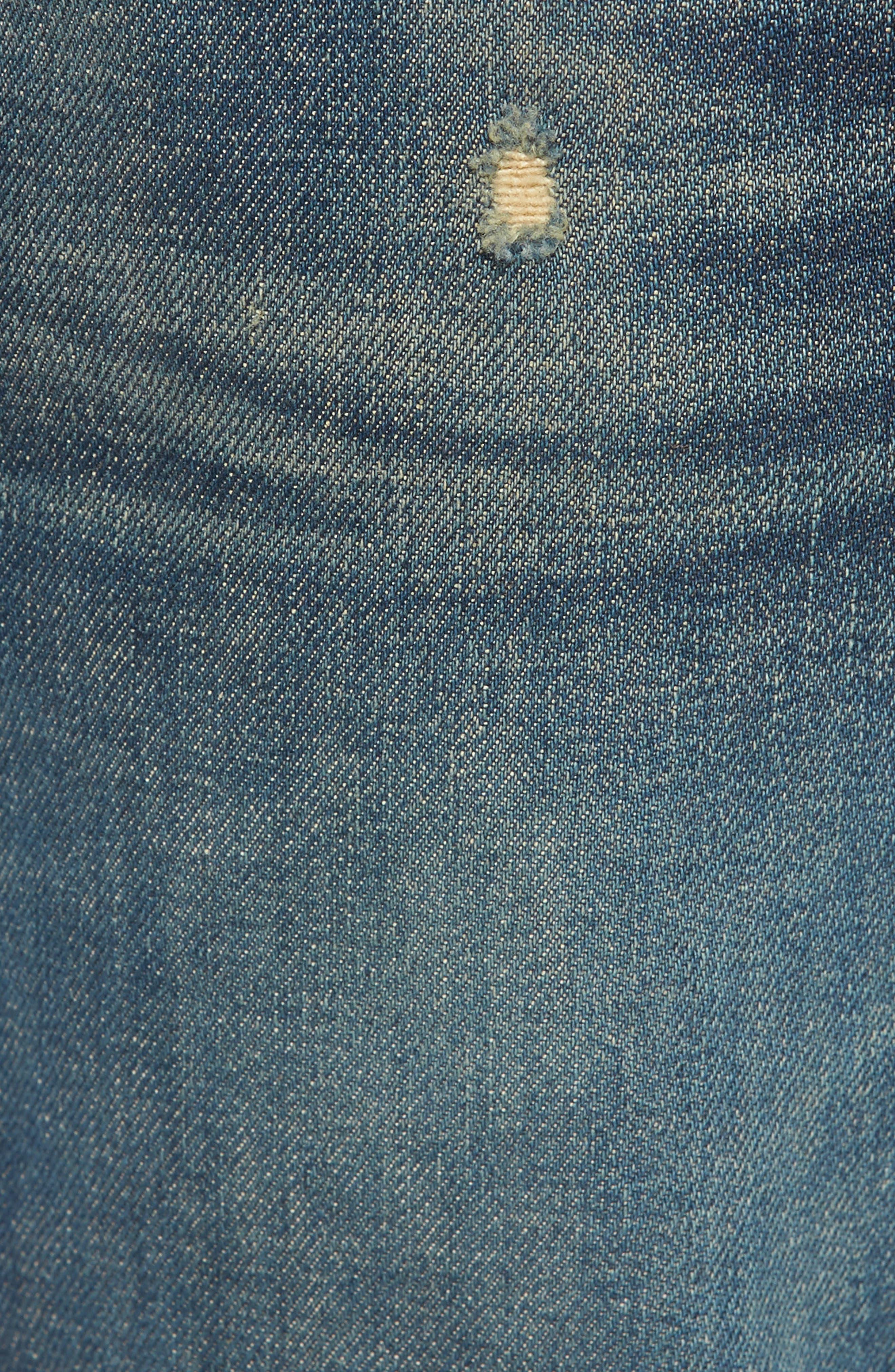 Vaughn Skinny Fit Jeans,                             Alternate thumbnail 5, color,                             Slum