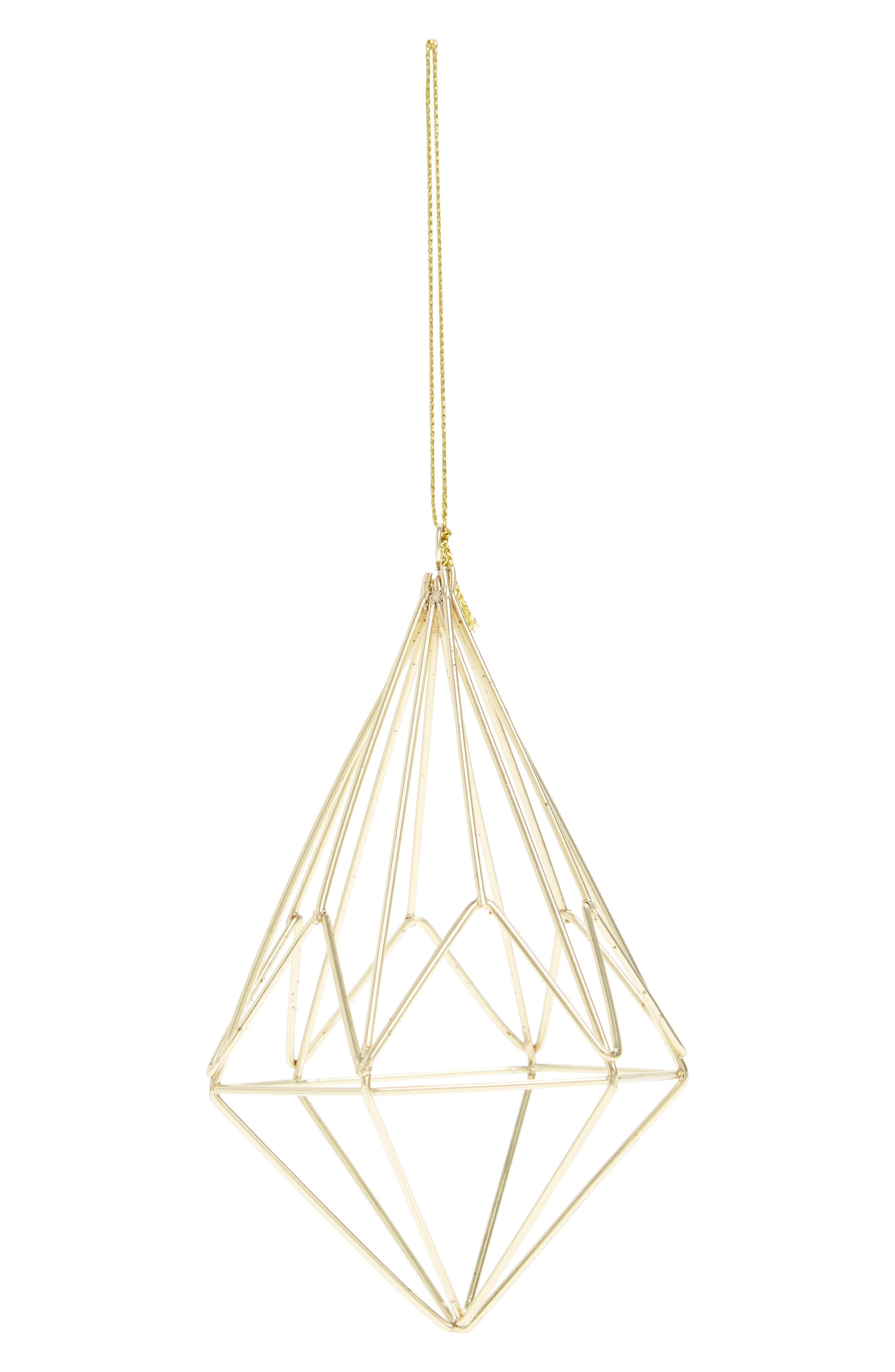 Nordstrom at Home Geometric Gem Ornament