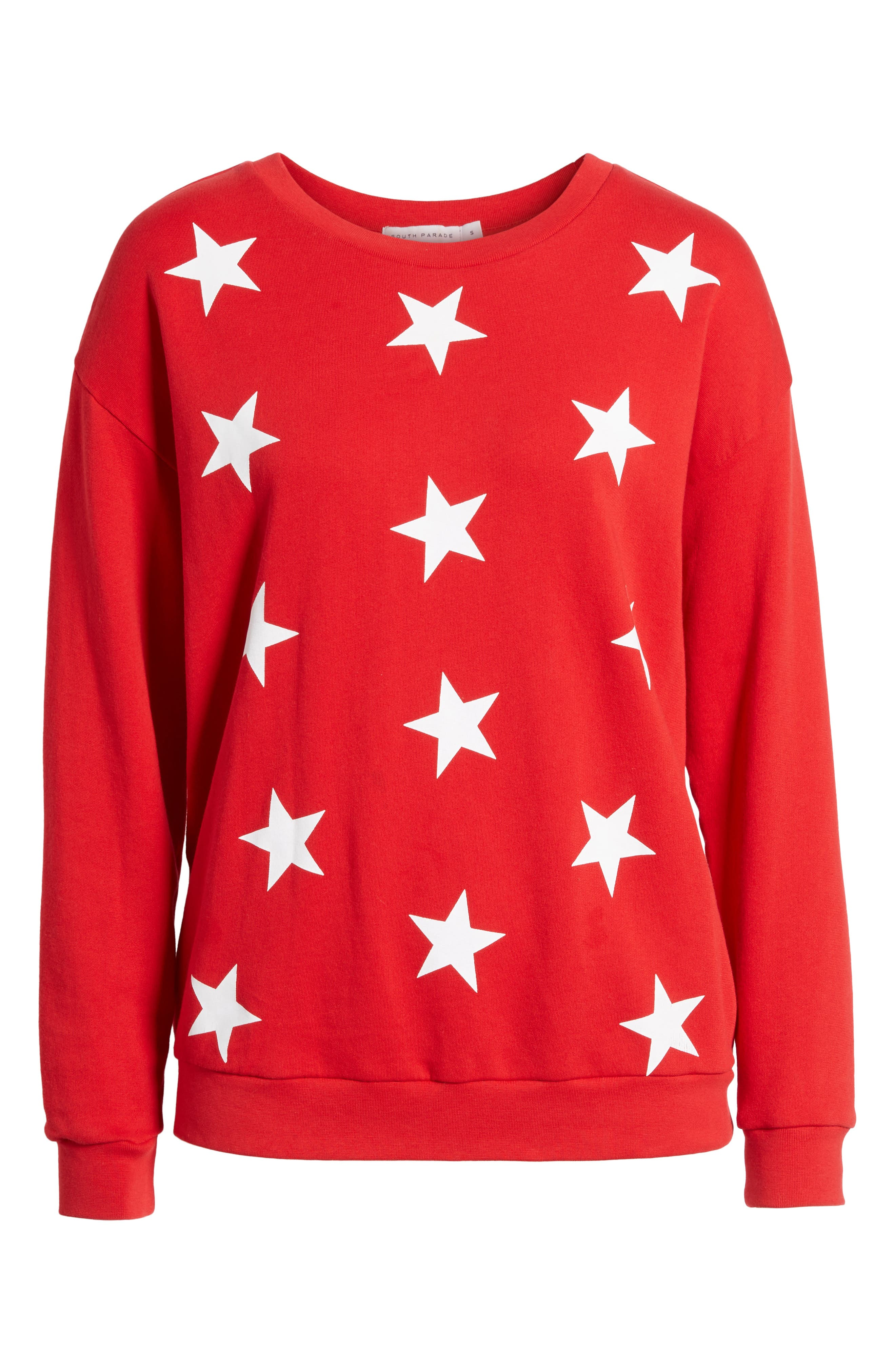 Alternate Image 6  - South Parade Alexa - Super Stars Sweatshirt