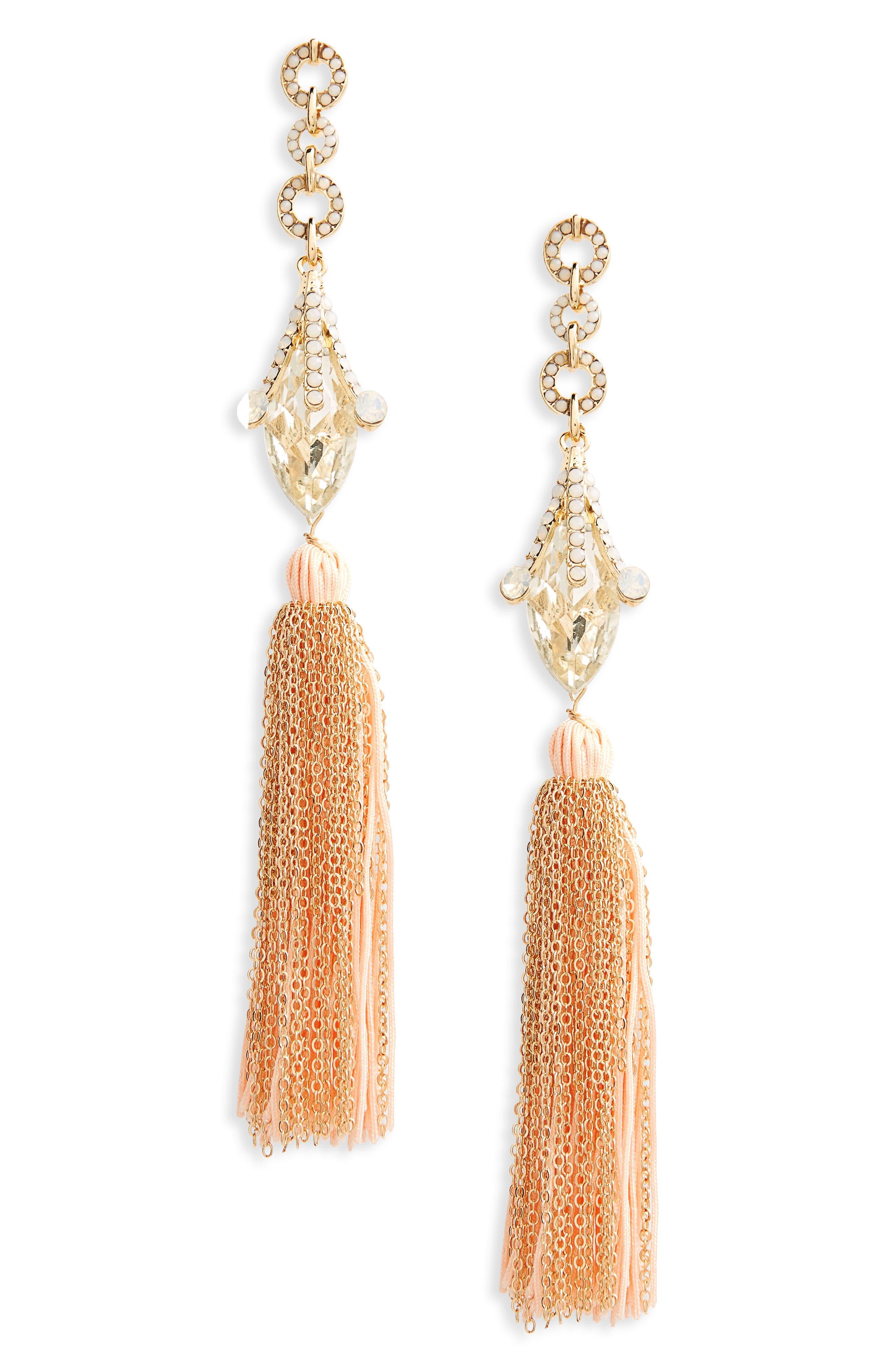 Leith Crystal Fringe Earrings