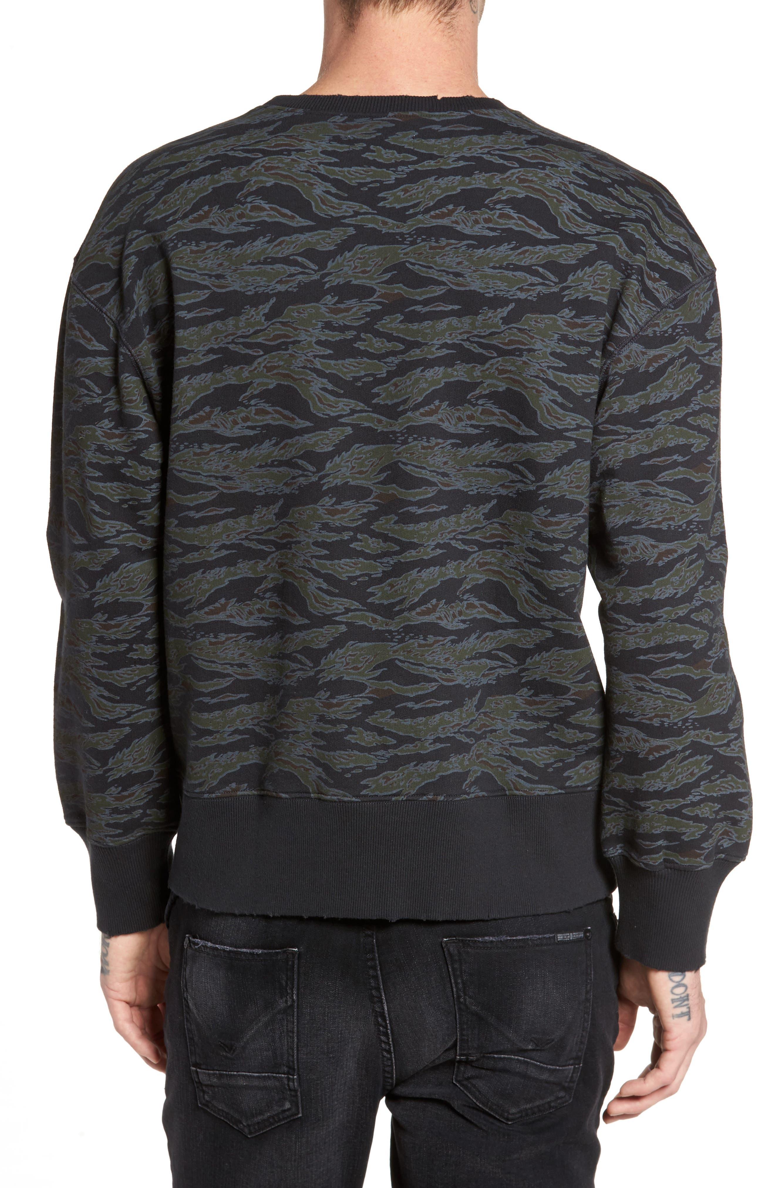 Alternate Image 2  - The Rail Print Sweatshirt