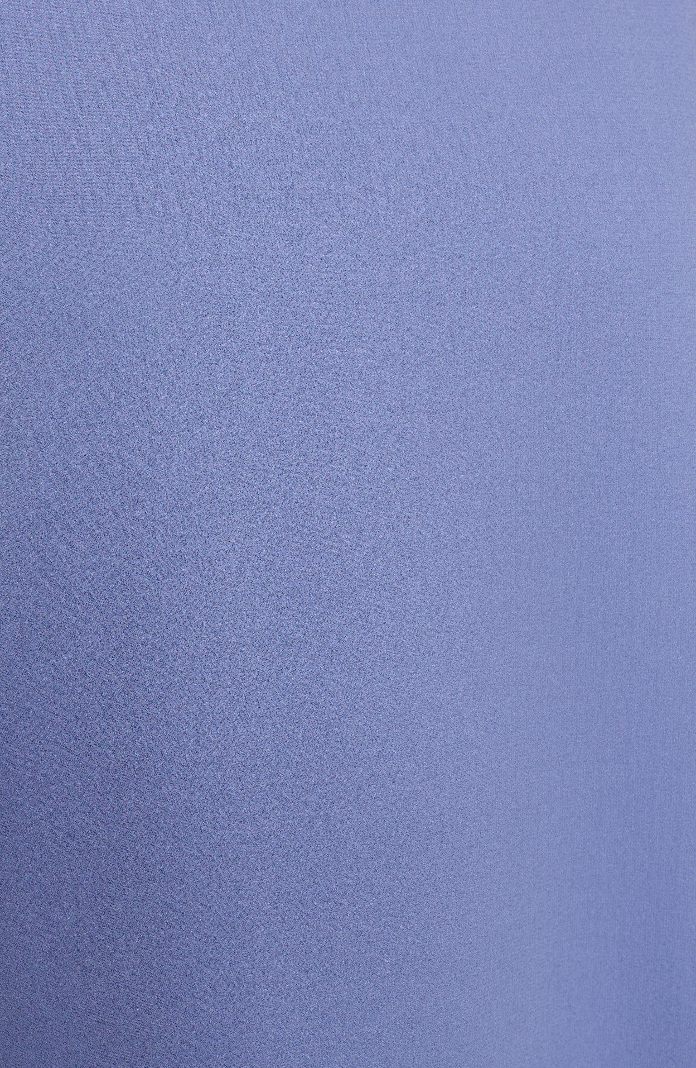 Alternate Image 5  - Eileen Fisher Slit Sleeve Silk Top