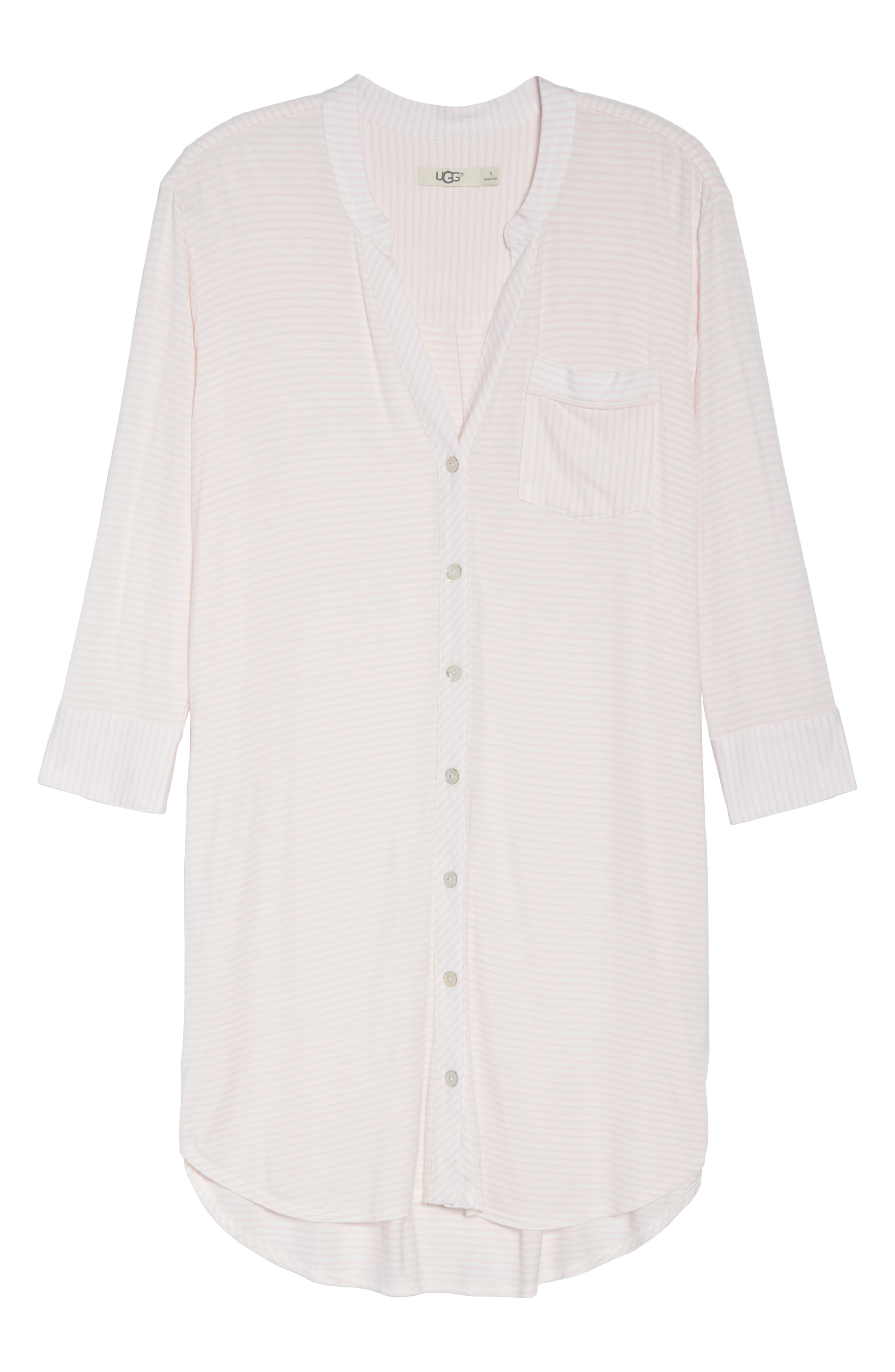 Alternate Image 4  - UGG® Vivian Sleep Shirt
