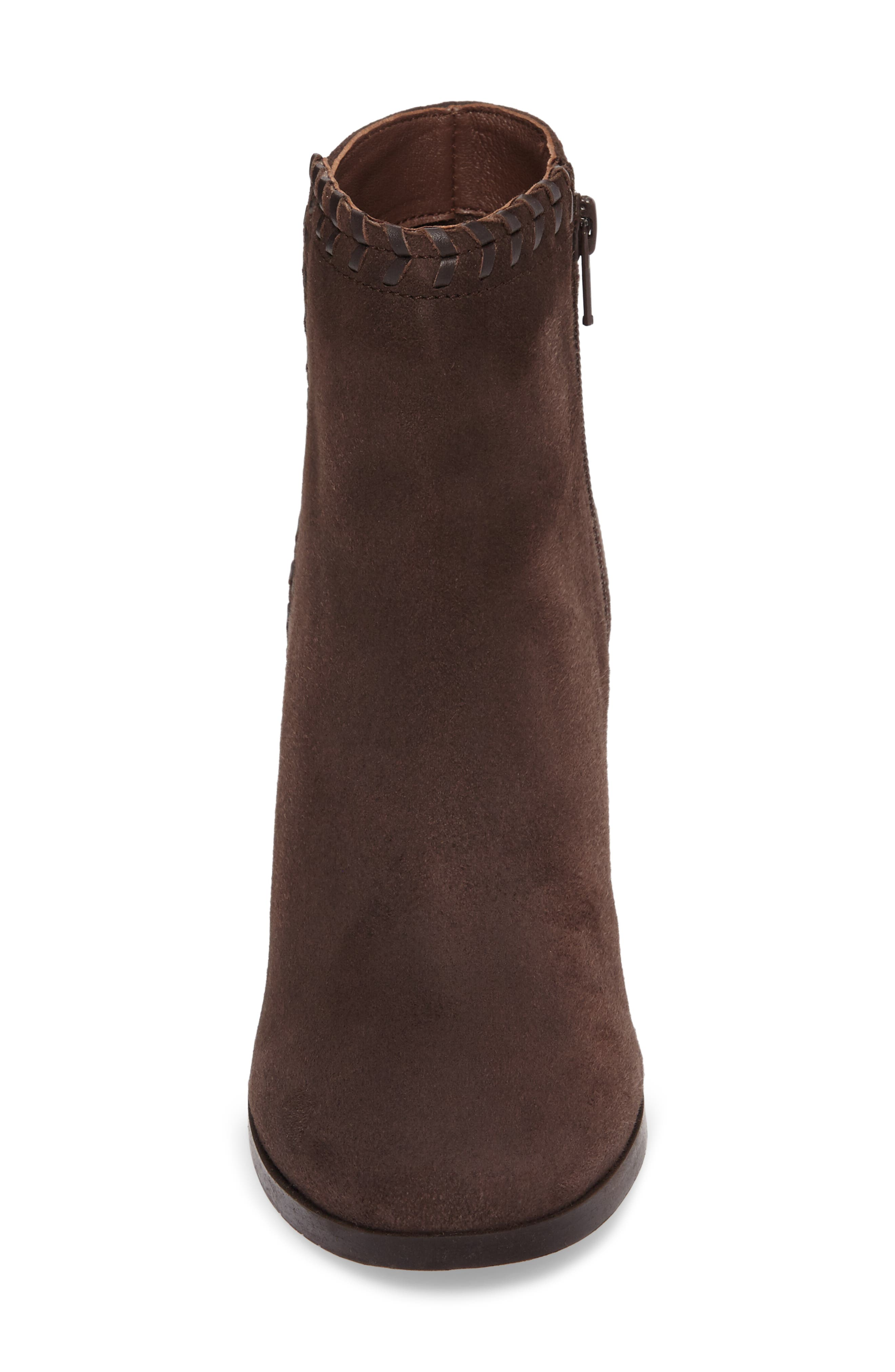 Heavenly Bootie,                             Alternate thumbnail 4, color,                             Taupe Suede