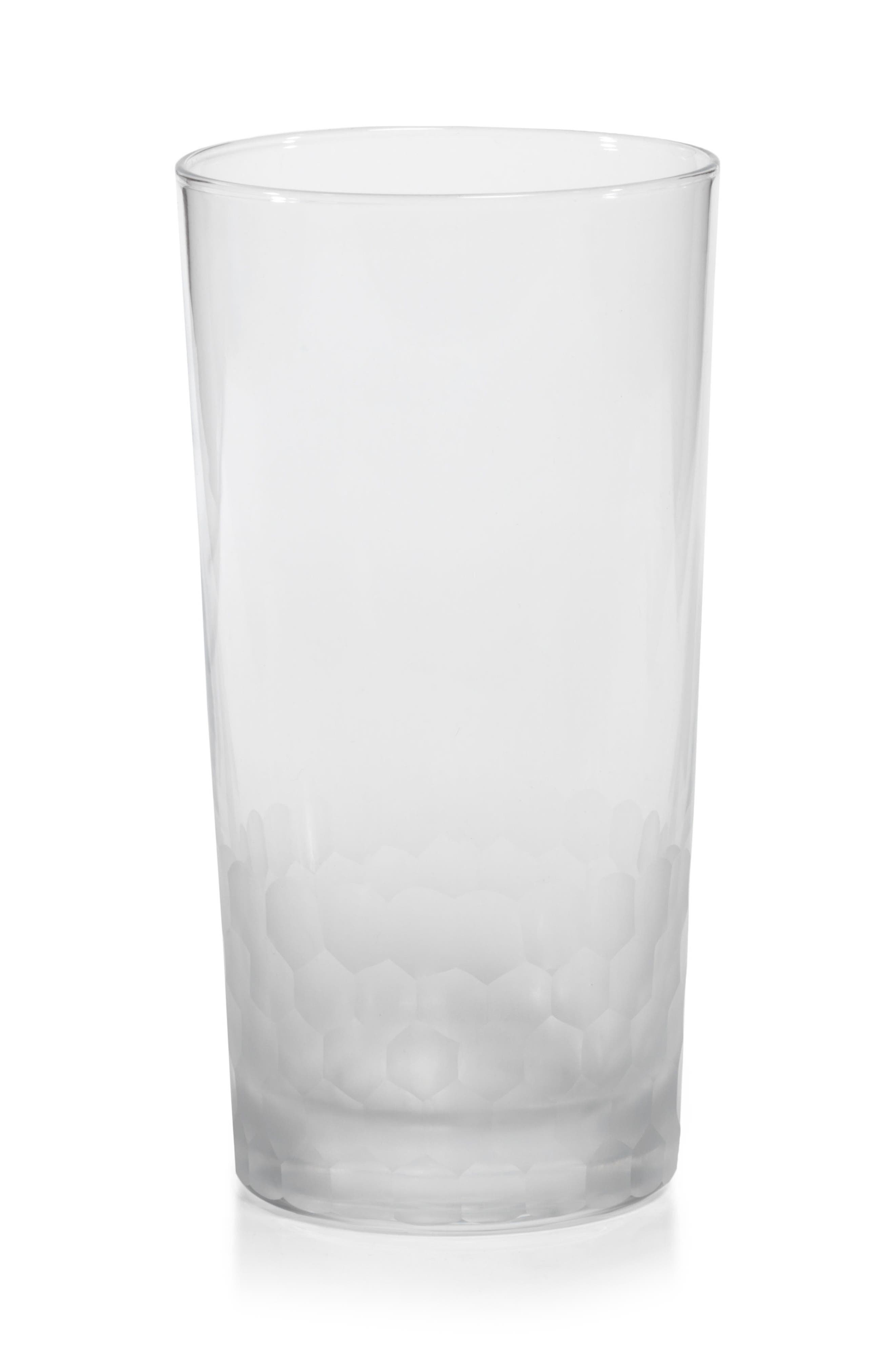 Main Image - Zodax Vittorio Set of 4 Frosted Highball Glasses
