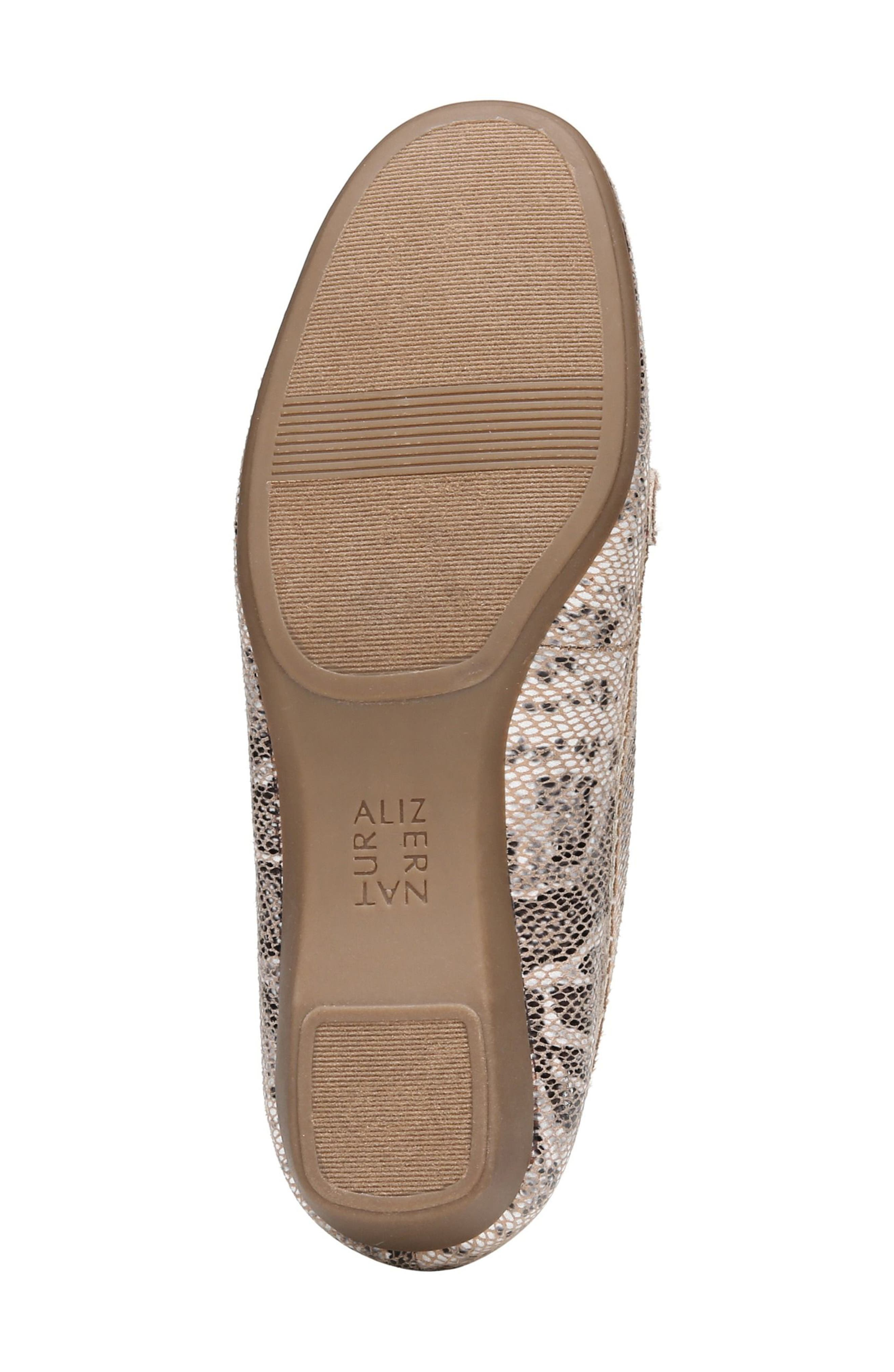 'Gisella' Loafer,                             Alternate thumbnail 6, color,                             Mauve Print Fabric