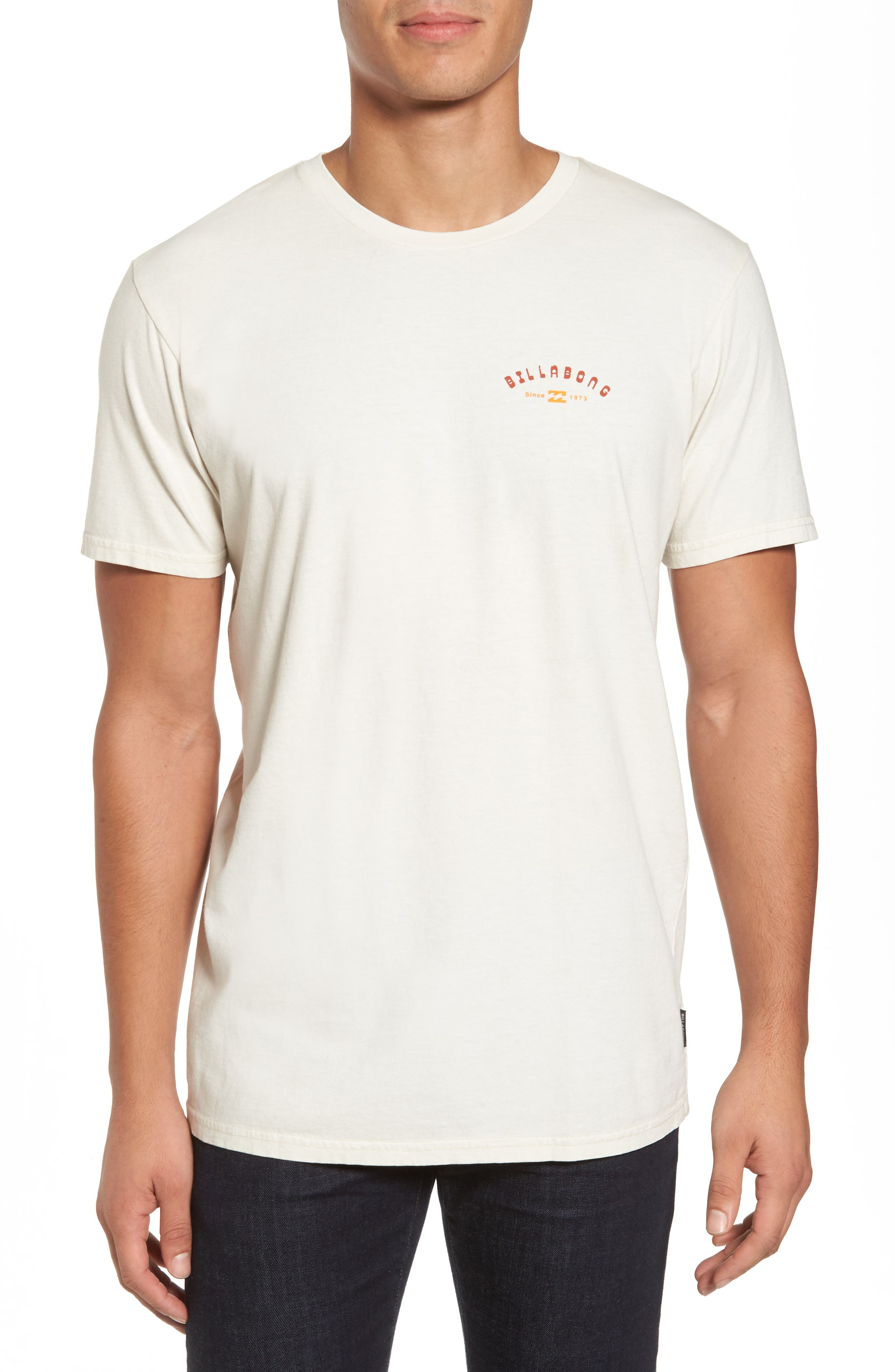 Alternate Image 1 Selected - Billabong Single Fin Graphic T-Shirt