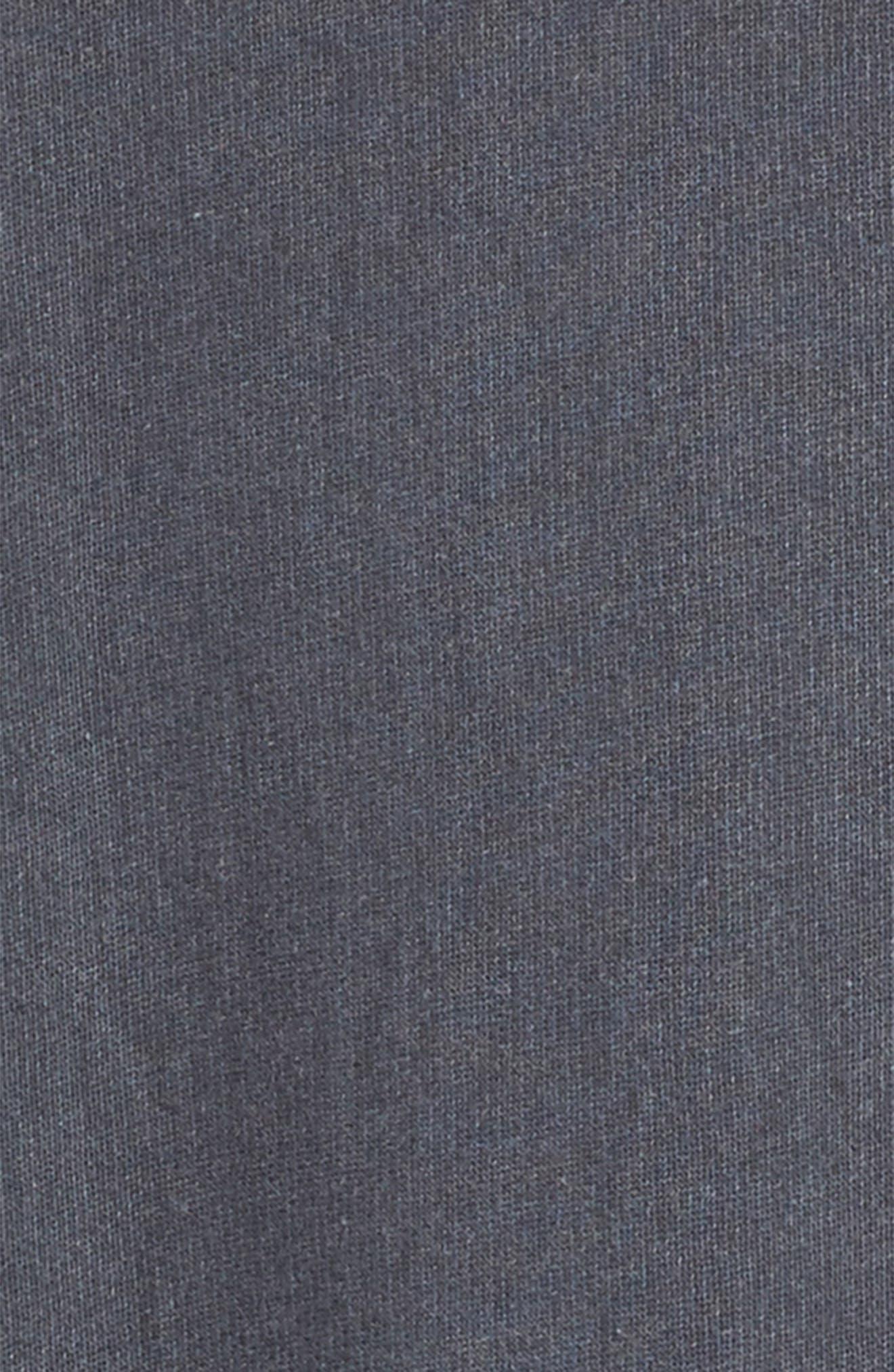 Alternate Image 2  - Treasure & Bond Hooded Fleece Sweatshirt Dress (Big Girls)