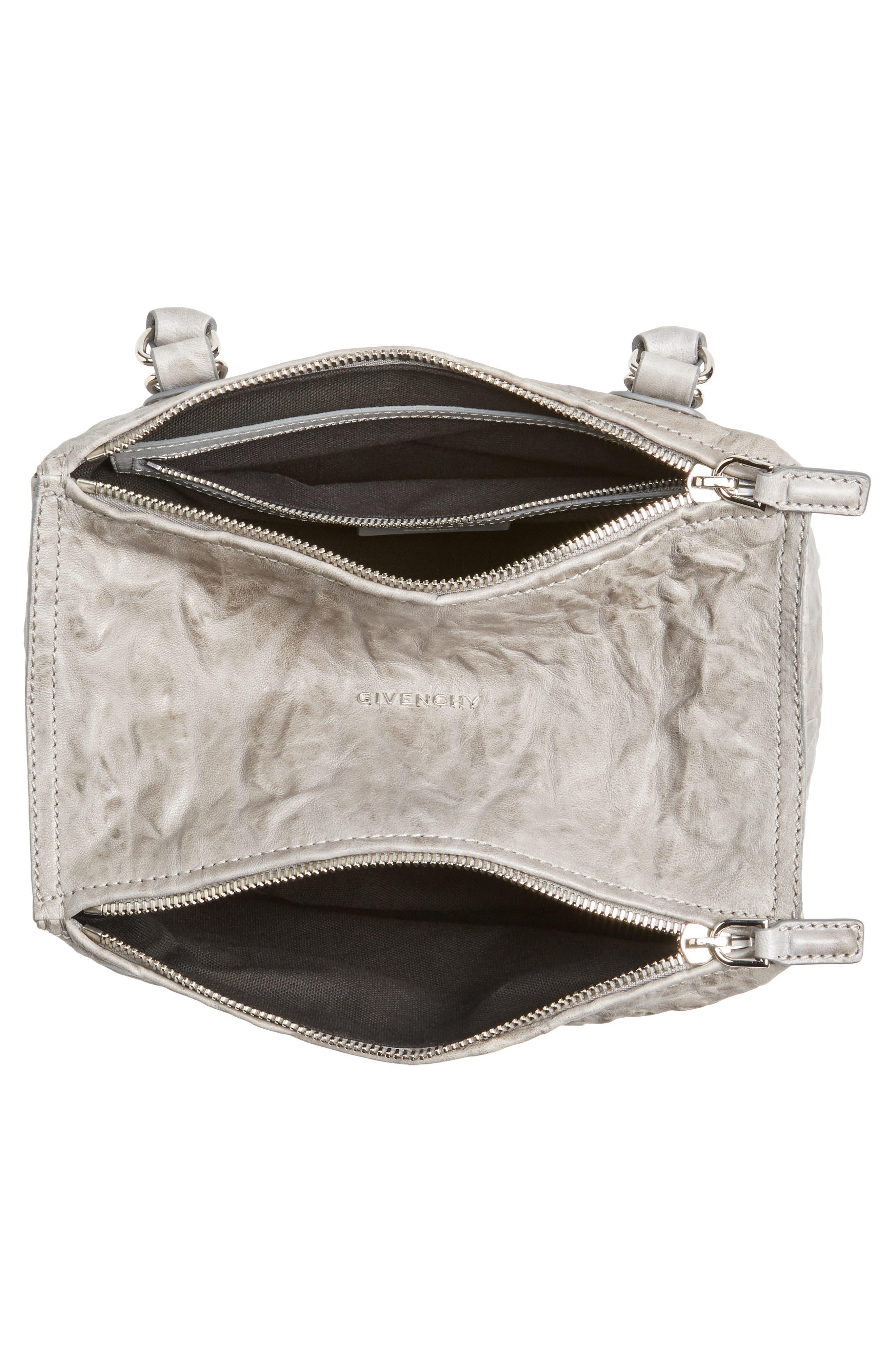 Alternate Image 4  - Givenchy 'Small Pepe Pandora' Leather Shoulder Bag