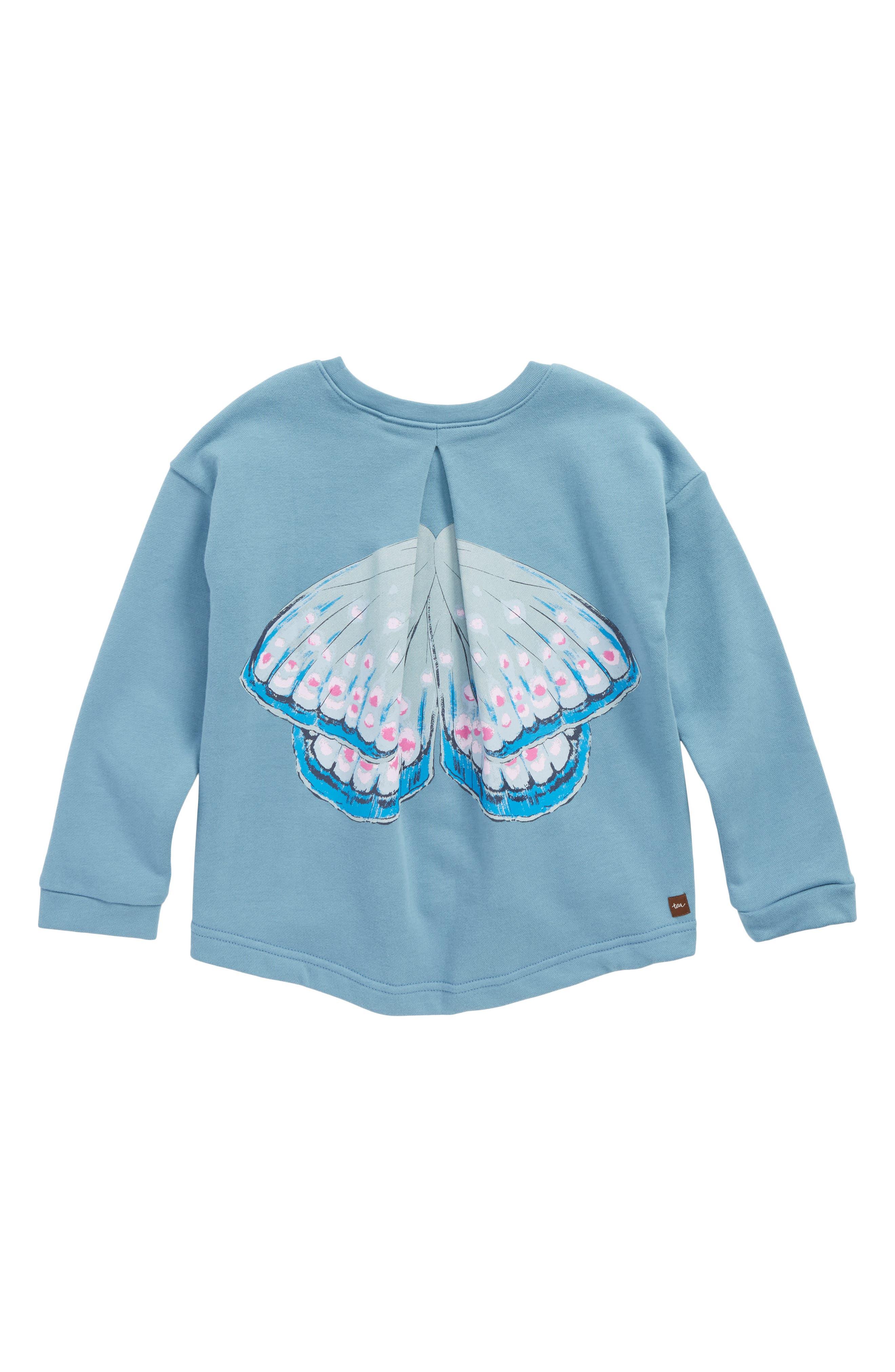 Alternate Image 2  - Tea Collection Fairy Wings Pullover (Toddler Girls, Little Girls & Big Girls)