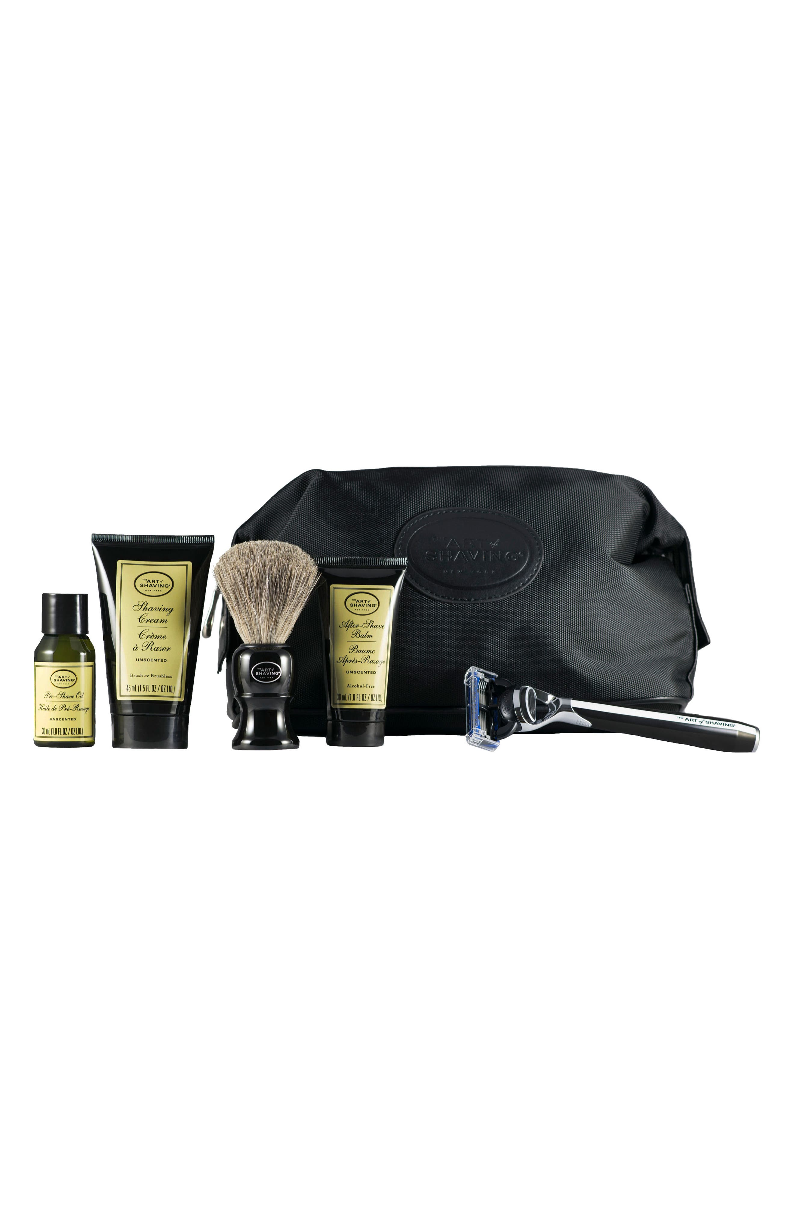 Morris Park Razor & Travel Kit,                         Main,                         color, Unscented