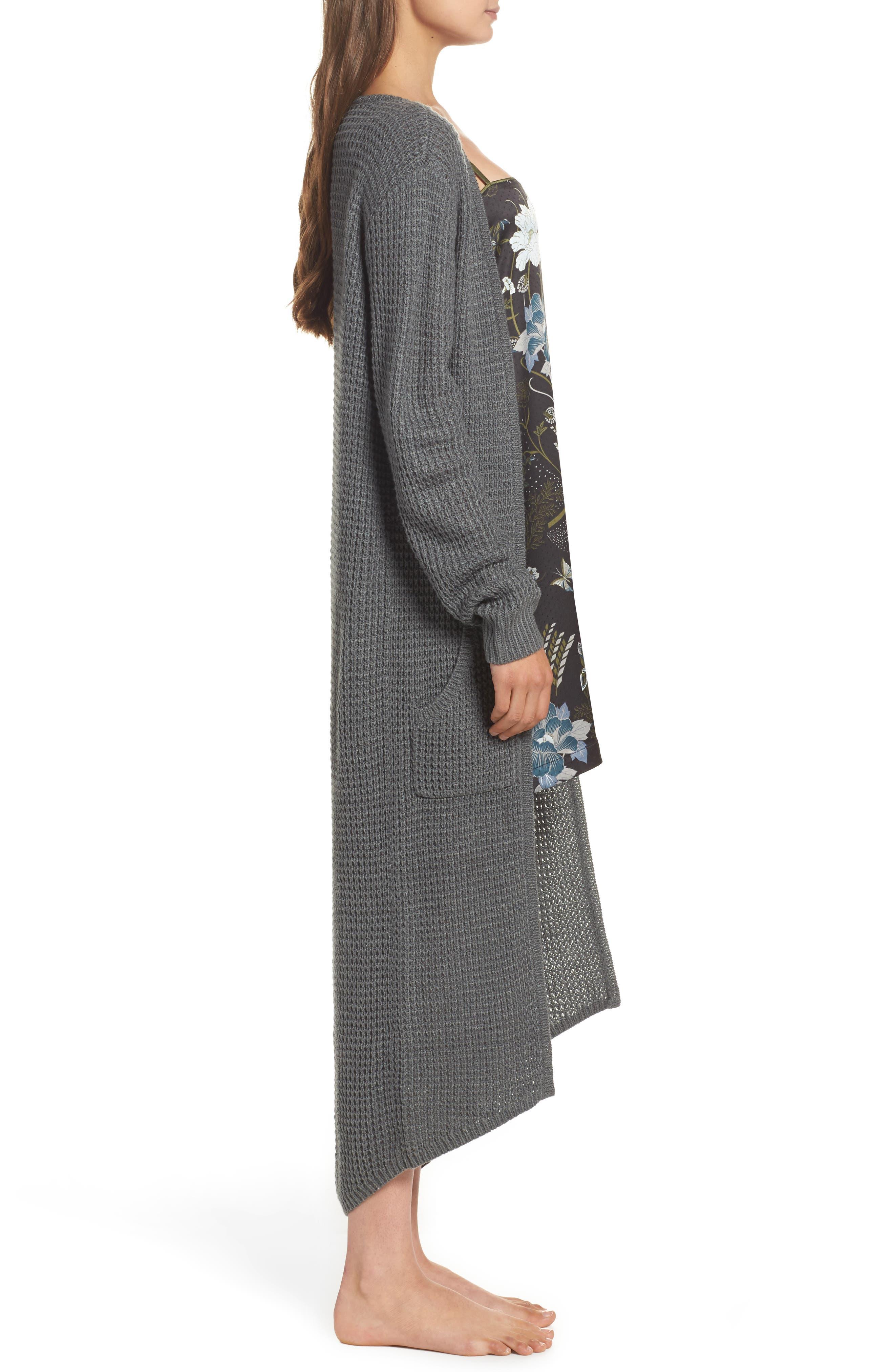 Alternate Image 3  - Chelsea28 Long Cardigan