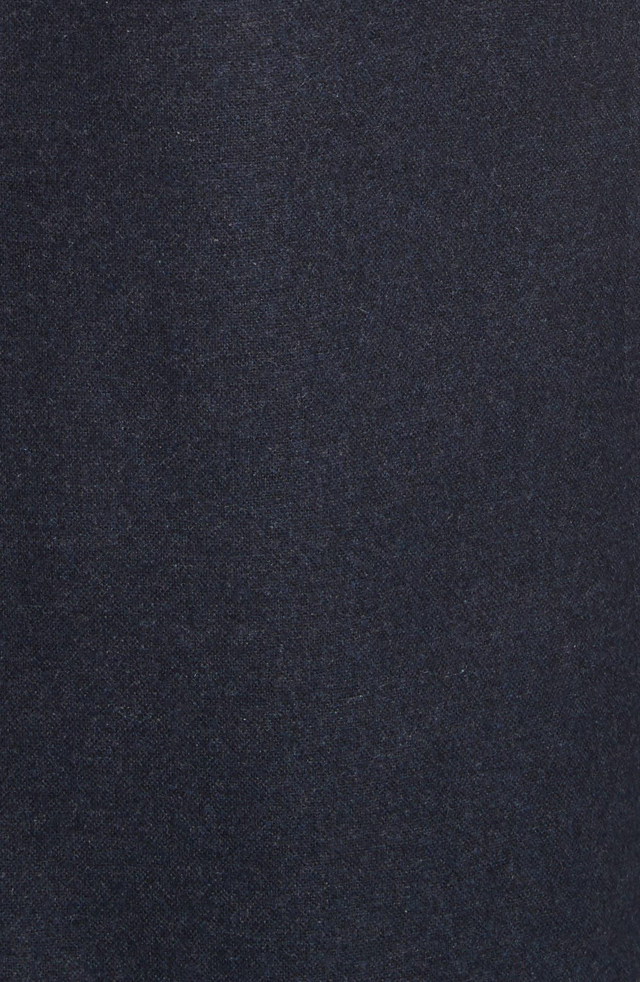 Alternate Image 5  - John Varvatos Star USA Buckley Wool Blend Topcoat