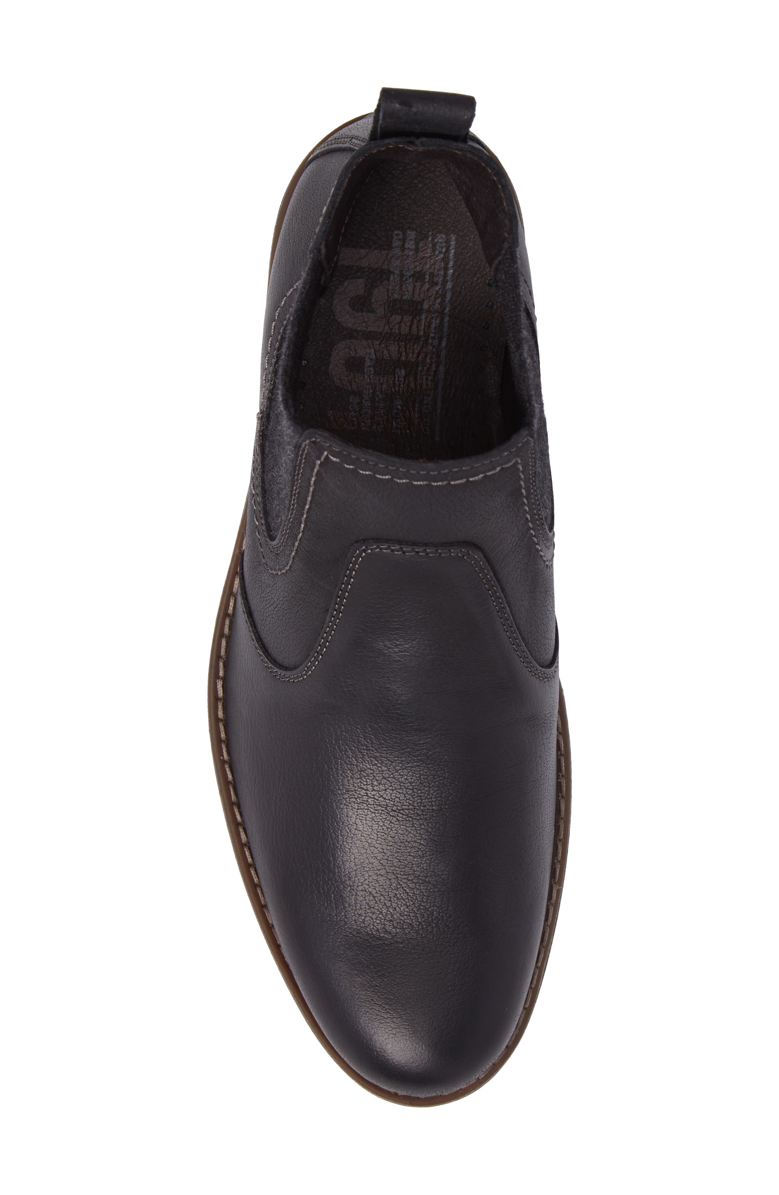 Spokane Chelsea Boot,                             Alternate thumbnail 5, color,                             Black Leather