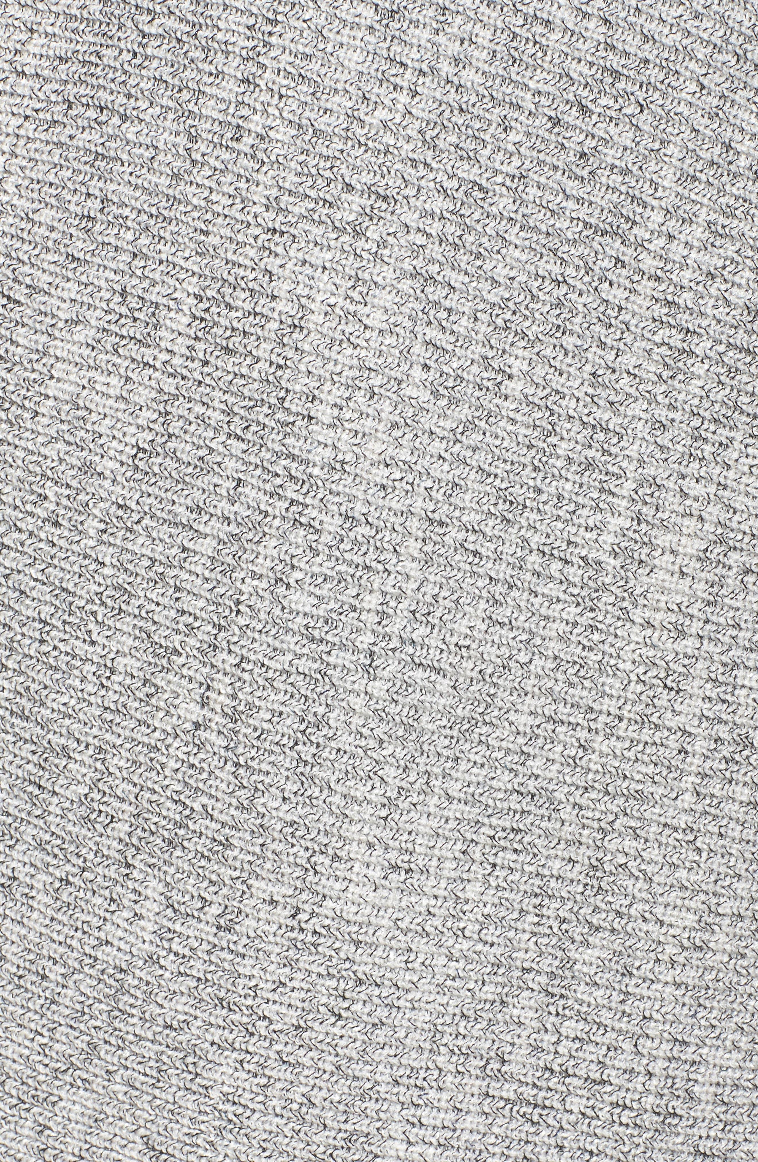 Pixel Pop Cardigan,                             Alternate thumbnail 5, color,                             Granite