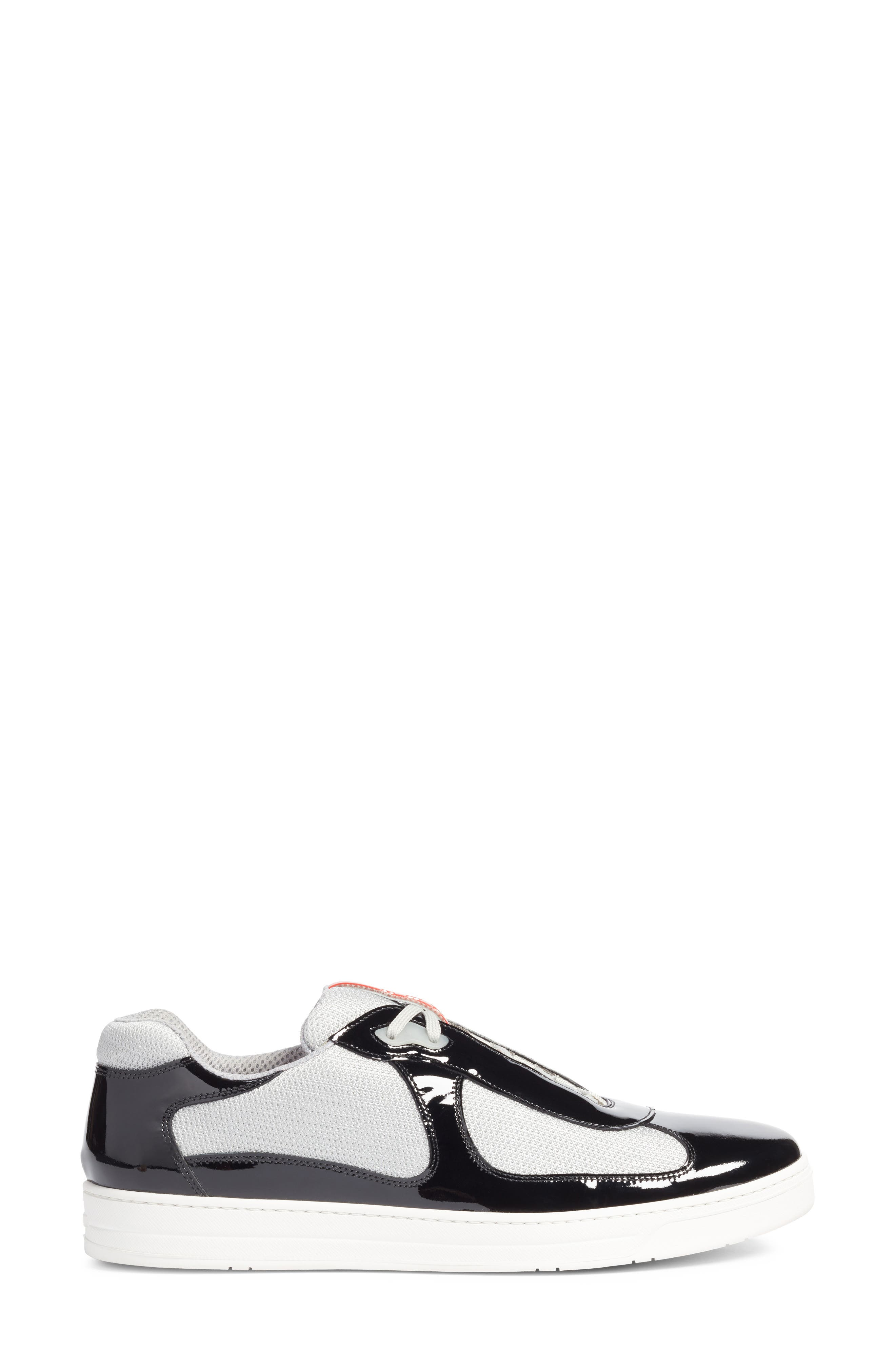 Linea Rossa New America's Cup Sneaker,                             Alternate thumbnail 3, color,                             Nero Argento