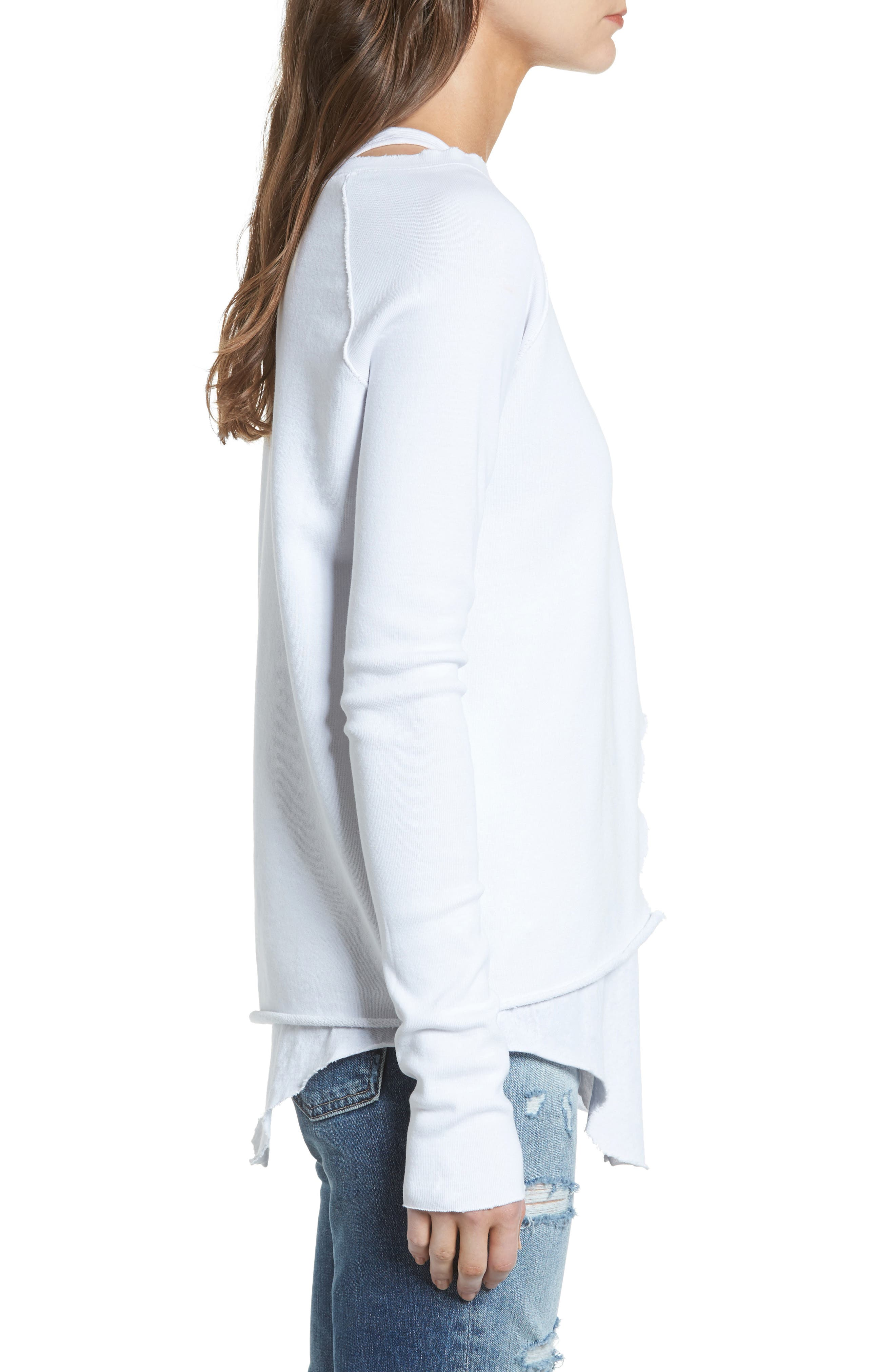 Alternate Image 4  - Frank & Eileen Tee Lab Asymmetrical Sweatshirt
