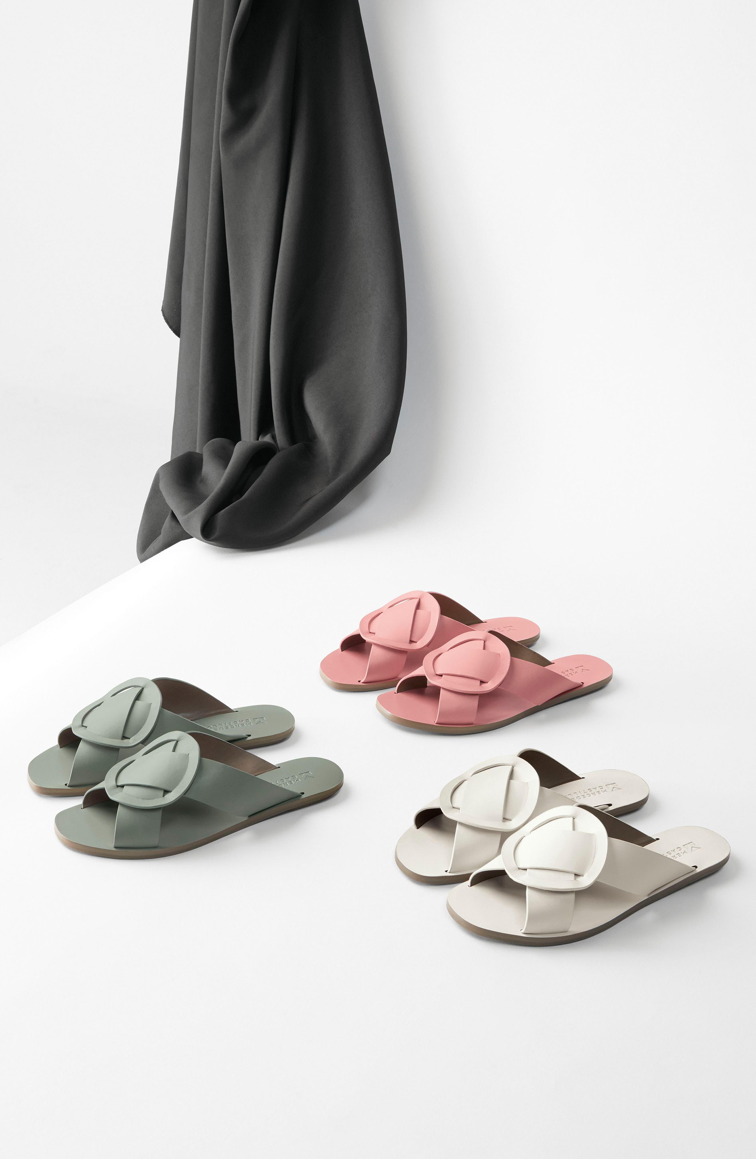 Carlein Slide Sandal,                             Alternate thumbnail 8, color,