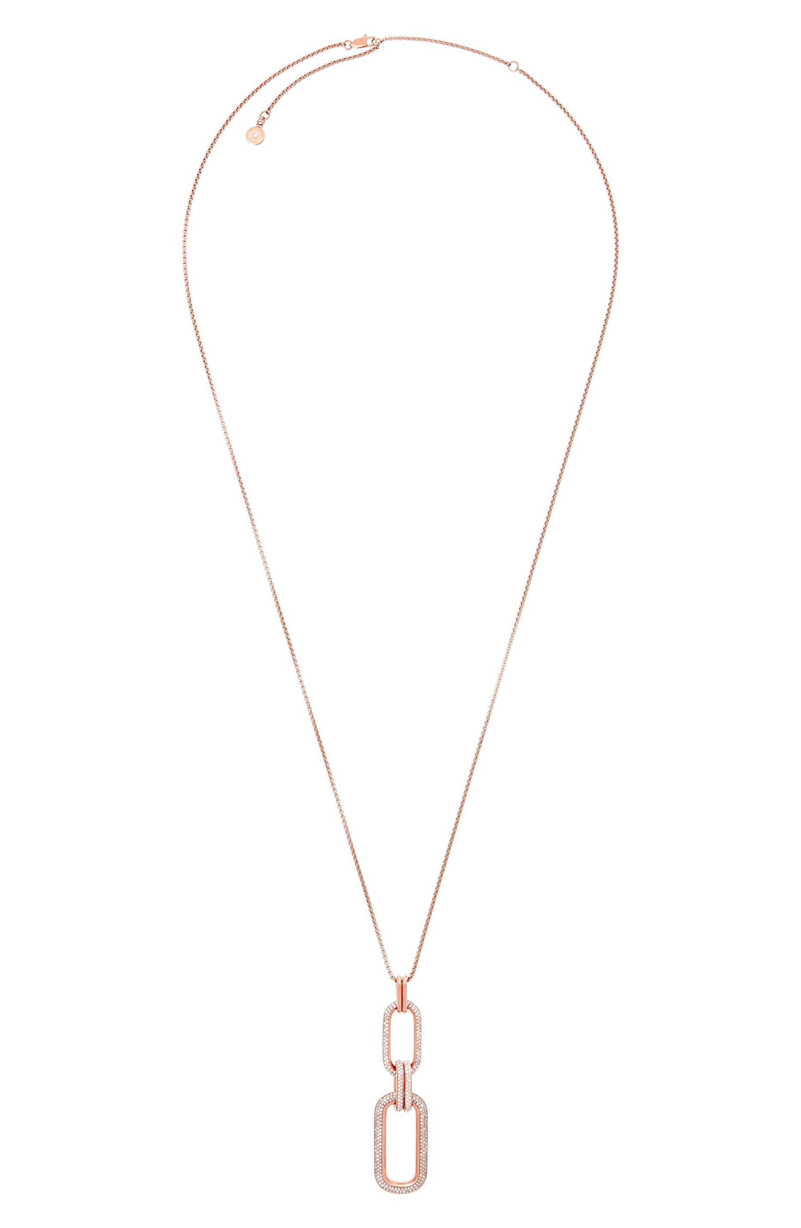 Alternate Image 1 Selected - Michael Kors Pendant Necklace