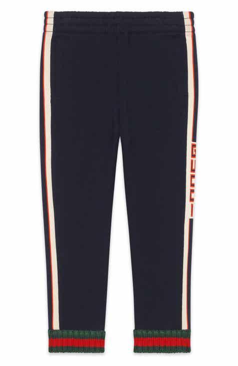 a2c46ac49b72 Gucci Logo Stripe Jogging Pants (Little Boys   Big Boys)