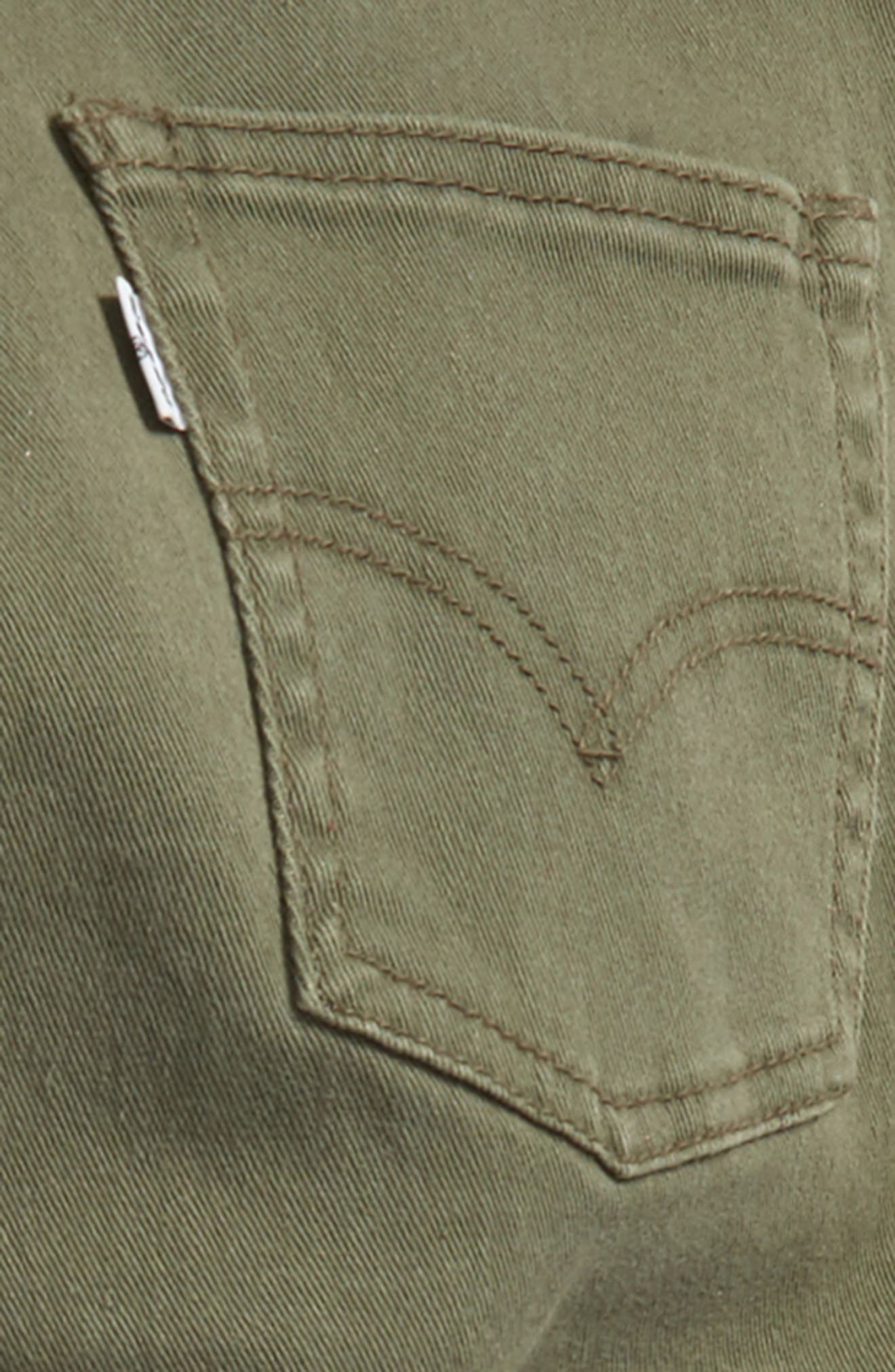 511 Slim Fit Jeans,                             Alternate thumbnail 2, color,                             Olive Night