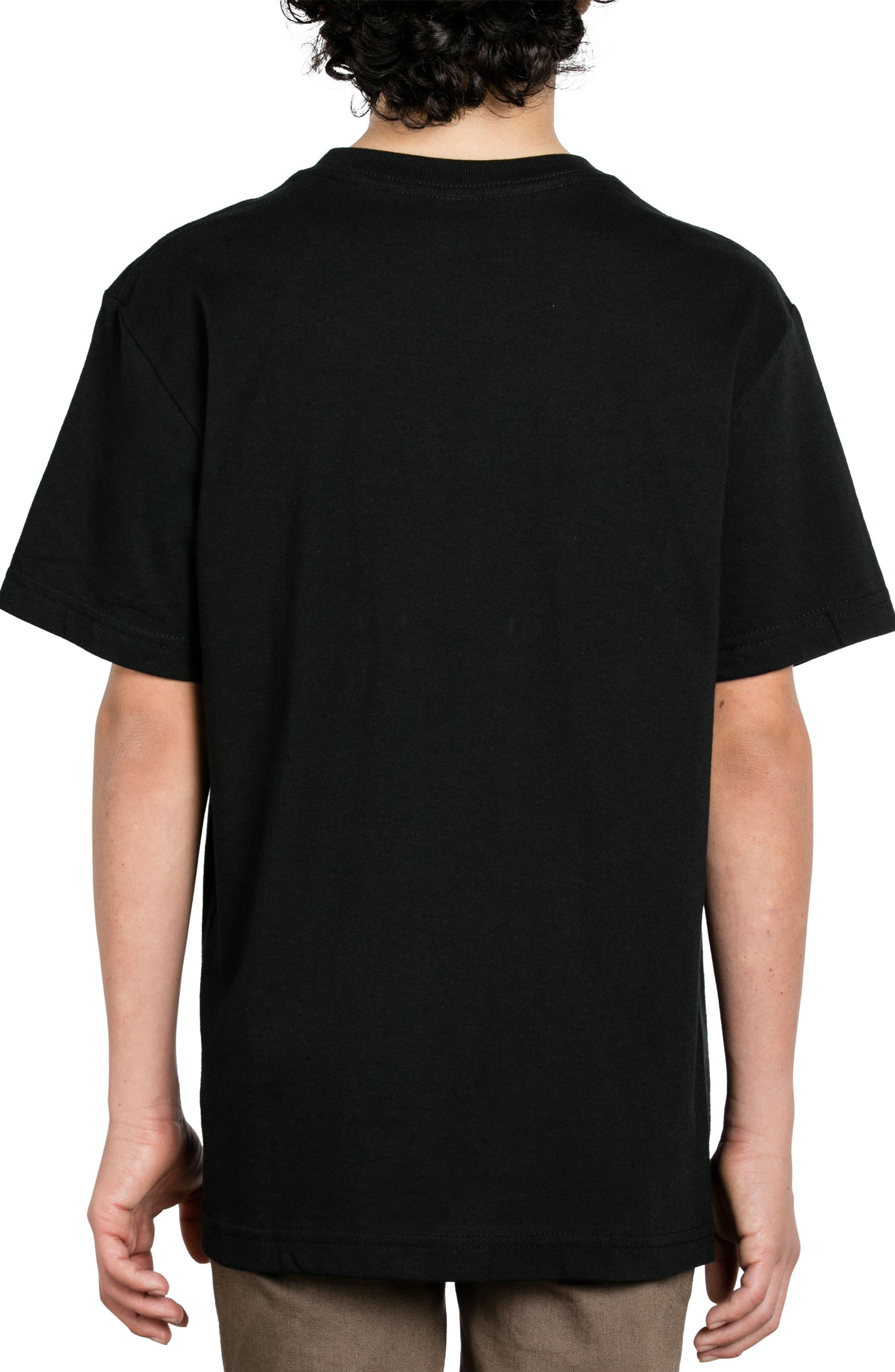 Vol Corp Graphic T-Shirt,                             Alternate thumbnail 2, color,                             Black