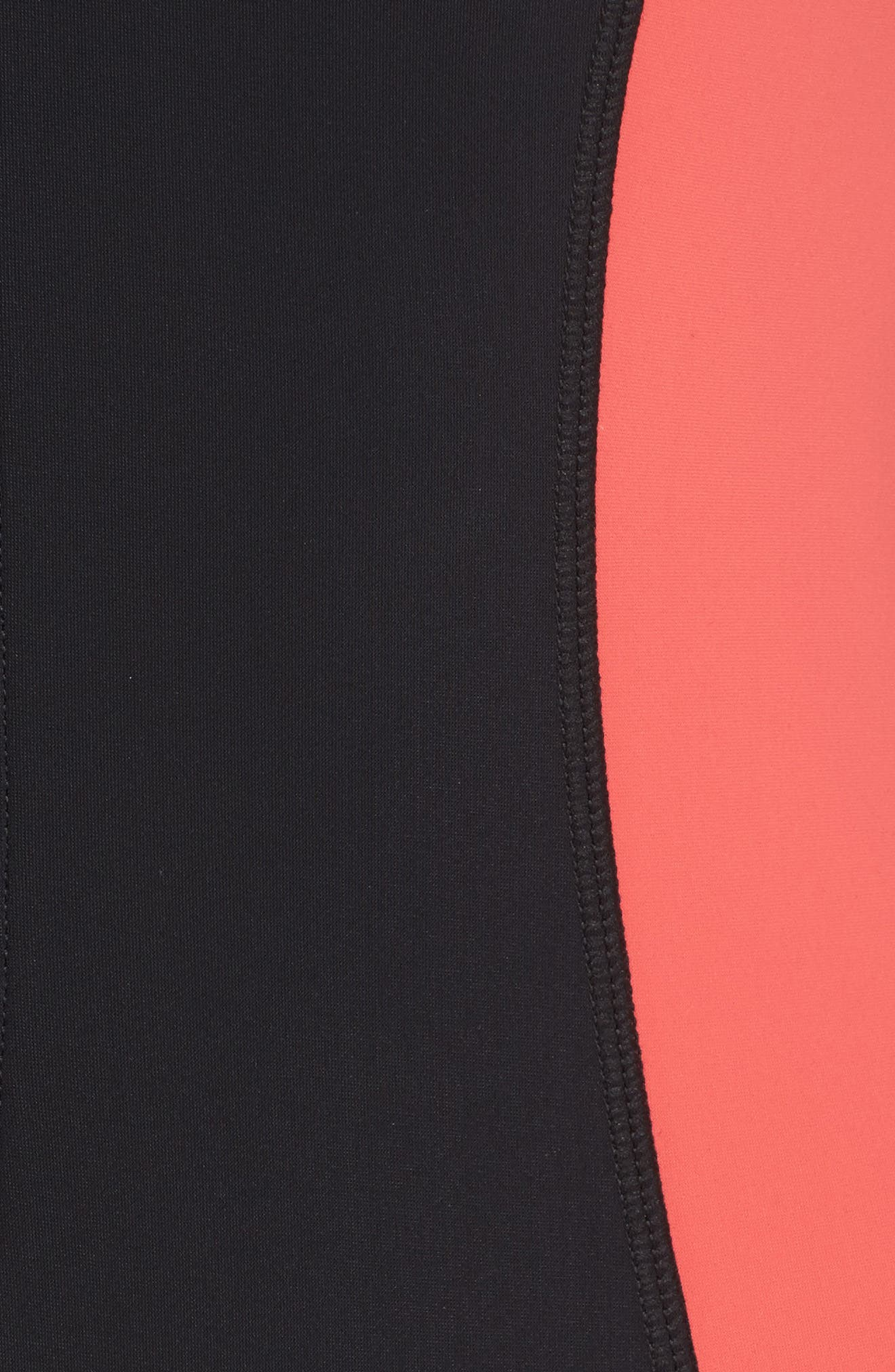 Alternate Image 5  - Seafolly Resist Me Zip Front Surf One-Piece Swimsuit