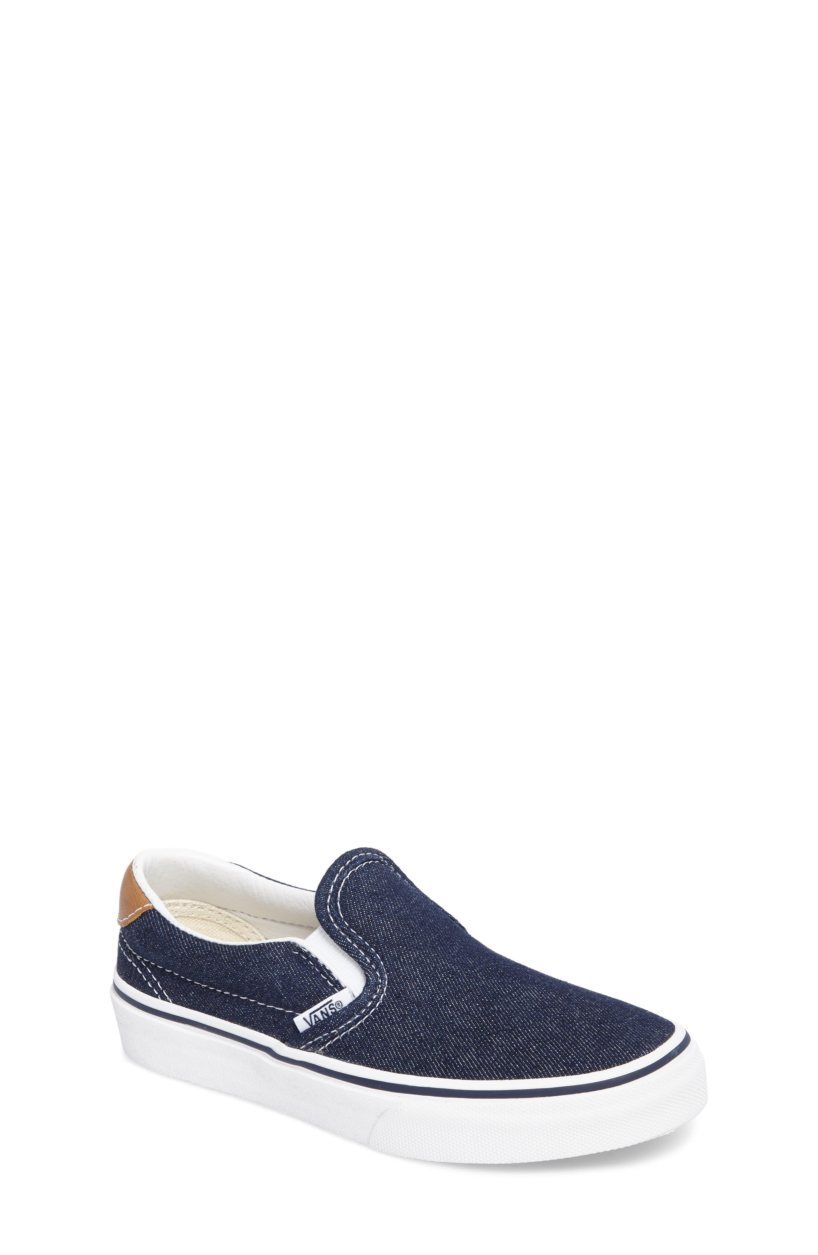 Denim C&L Slip-On 59 Sneaker,                             Main thumbnail 1, color,                             Denim Dress Blues/ Chipmunk