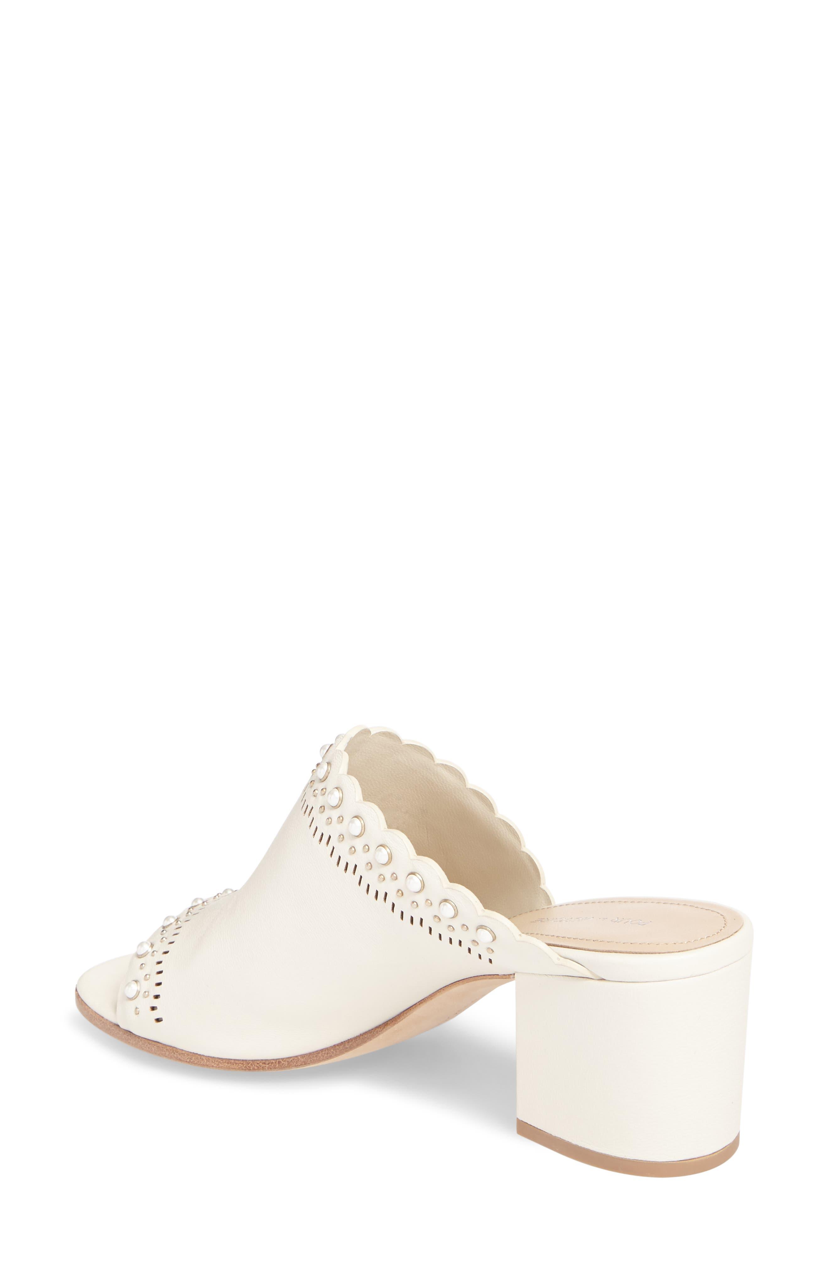 Alternate Image 2  - Pour la Victoire Amela Embellished Slide Sandal (Women)
