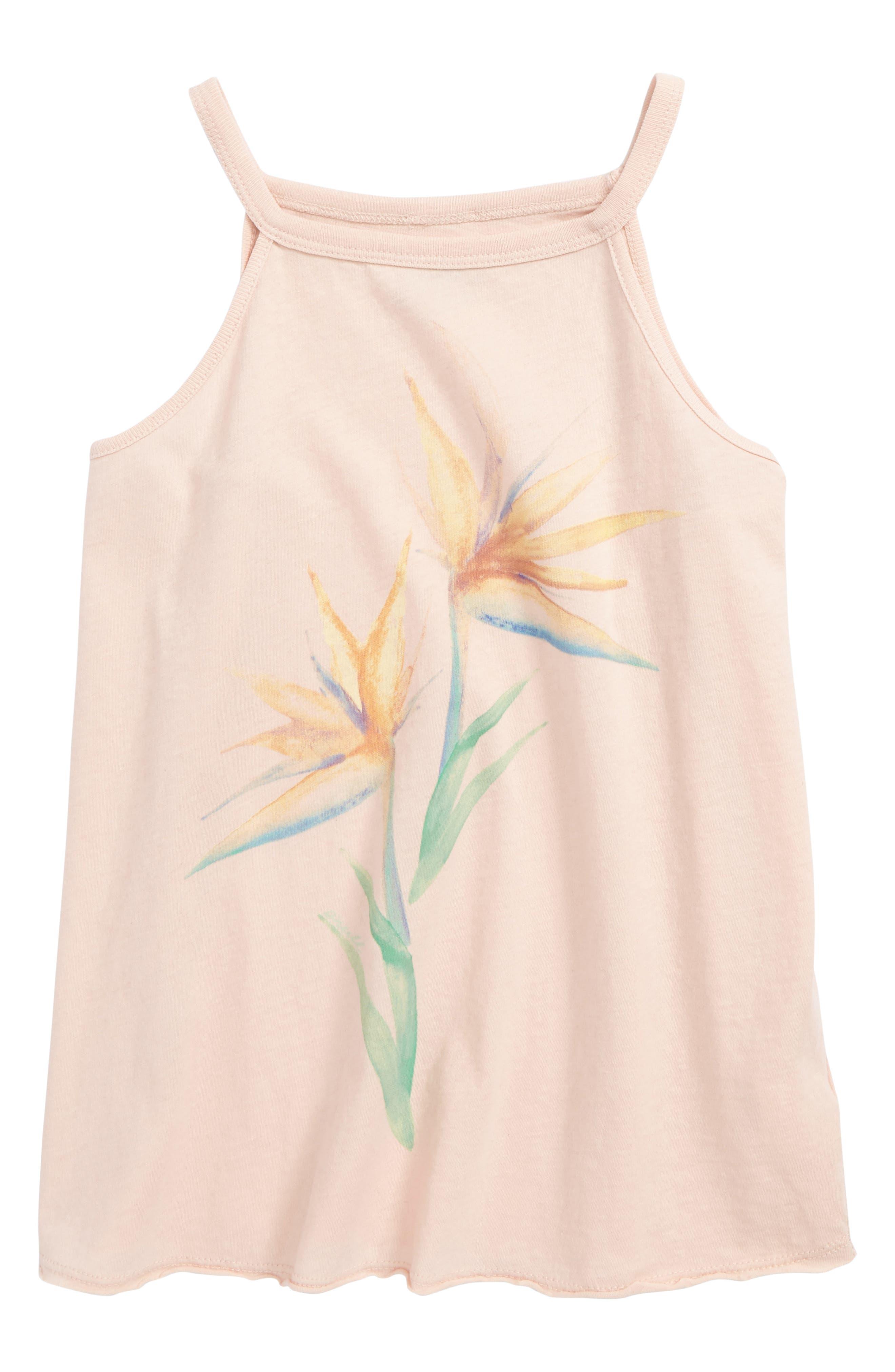 Main Image - O'Neill Paradise Bloom Graphic Tank (Big Girls)