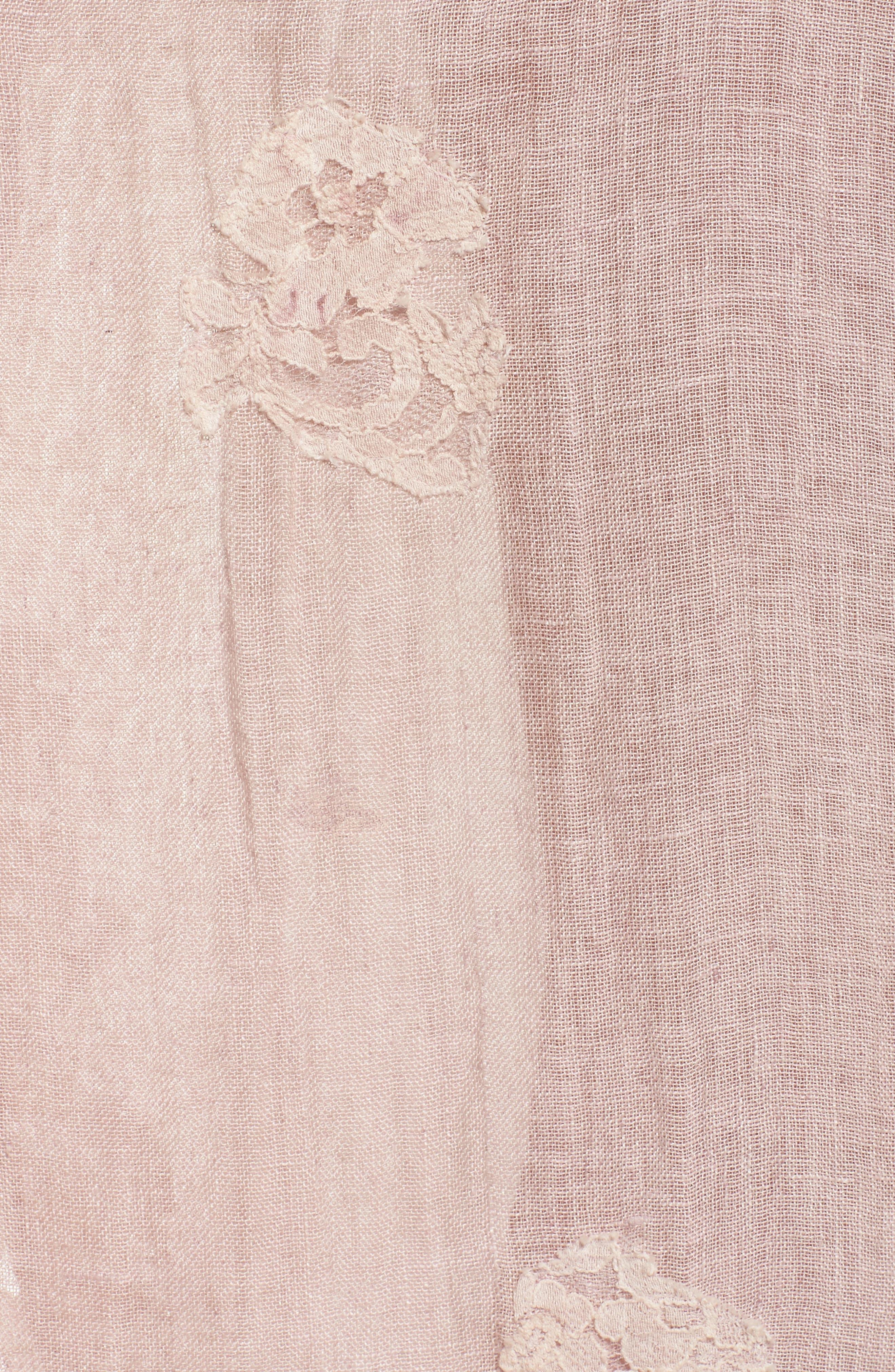 Alternate Image 5  - Muche et Muchette Daisy Linen Cover-Up Dress