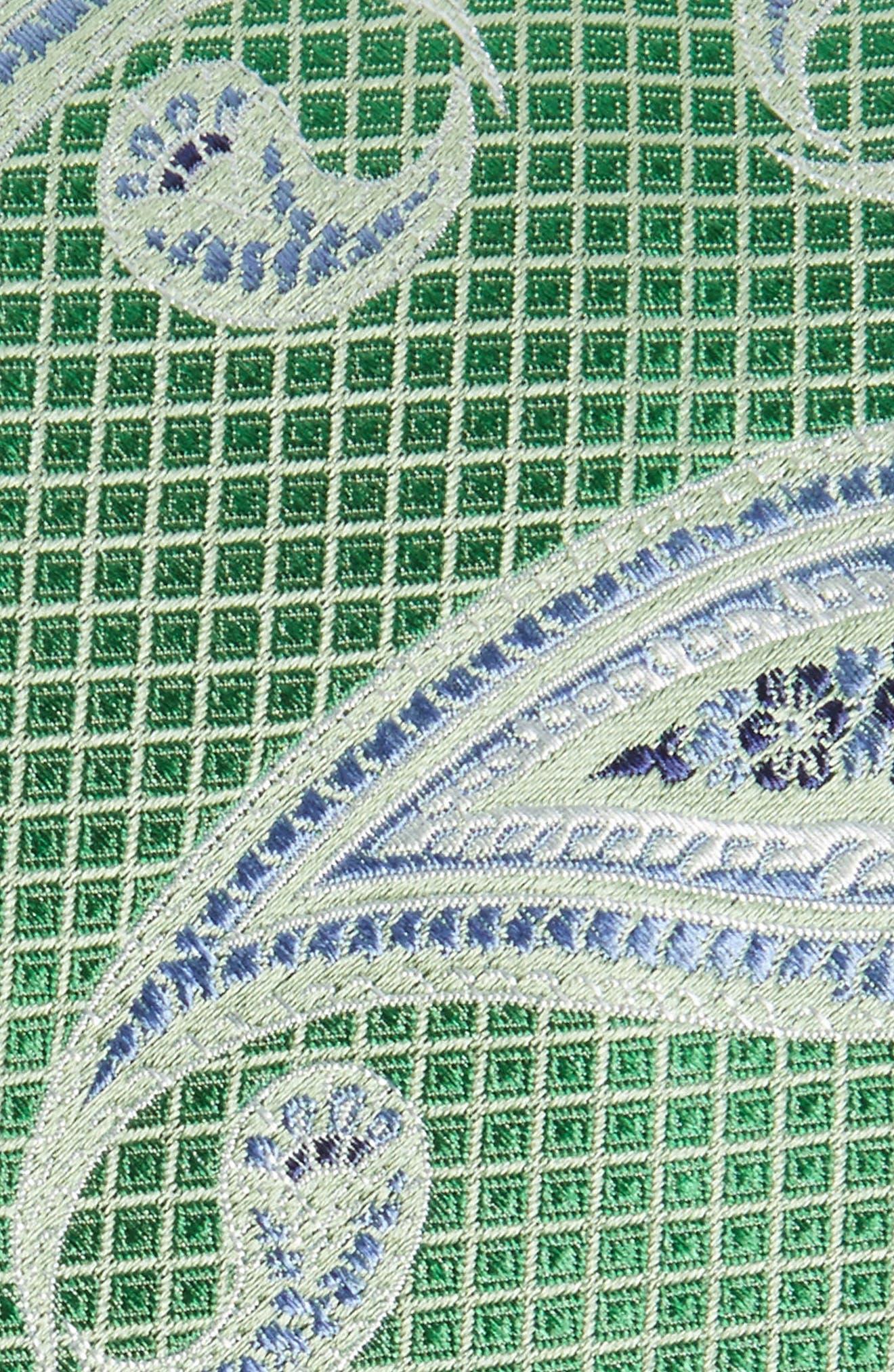 Alternate Image 2  - Nordstrom Men's Shop Paisley Silk Tie