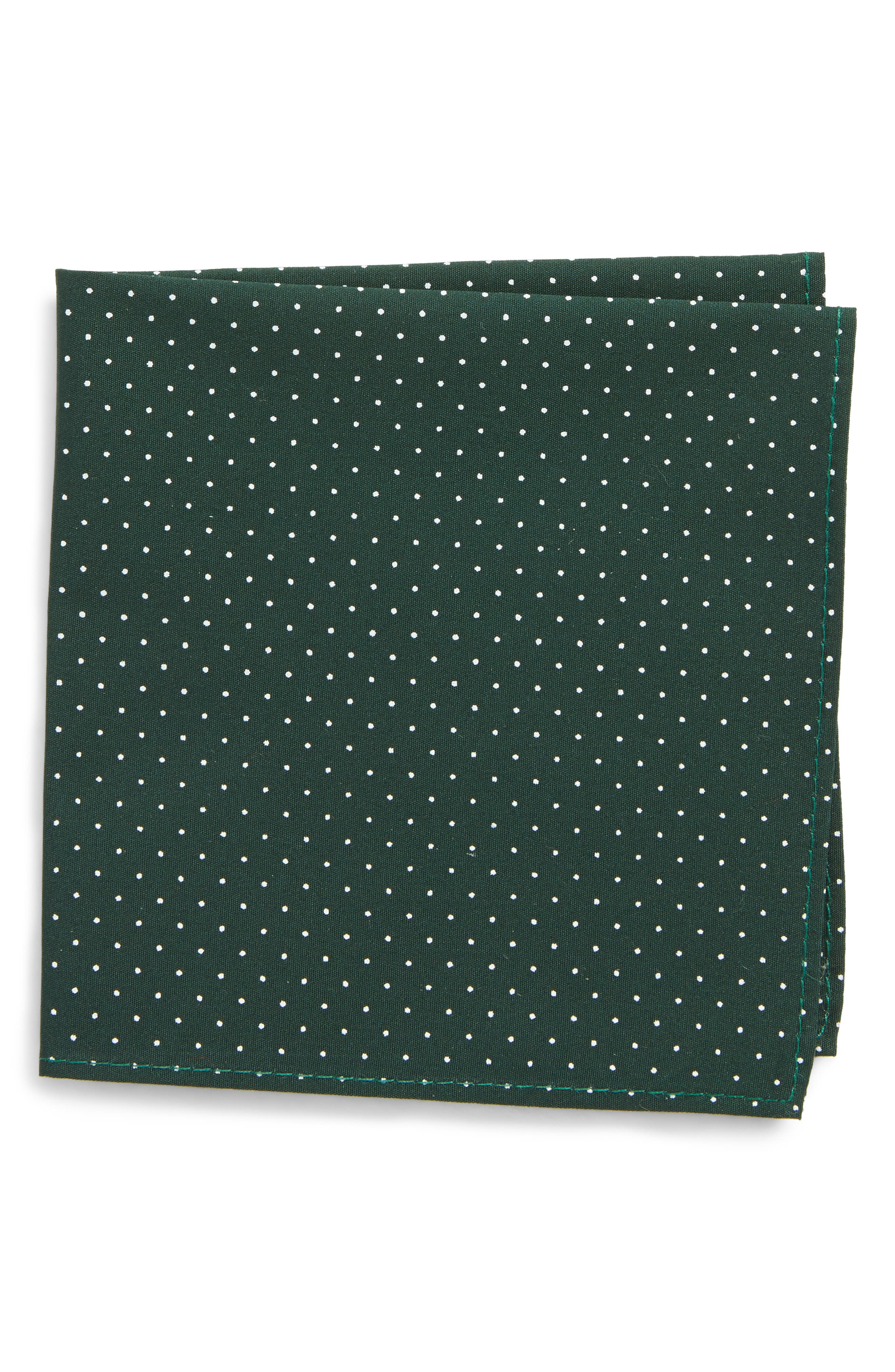 Main Image - Nordstrom Micro Dot Pocket Square (Big Boys)