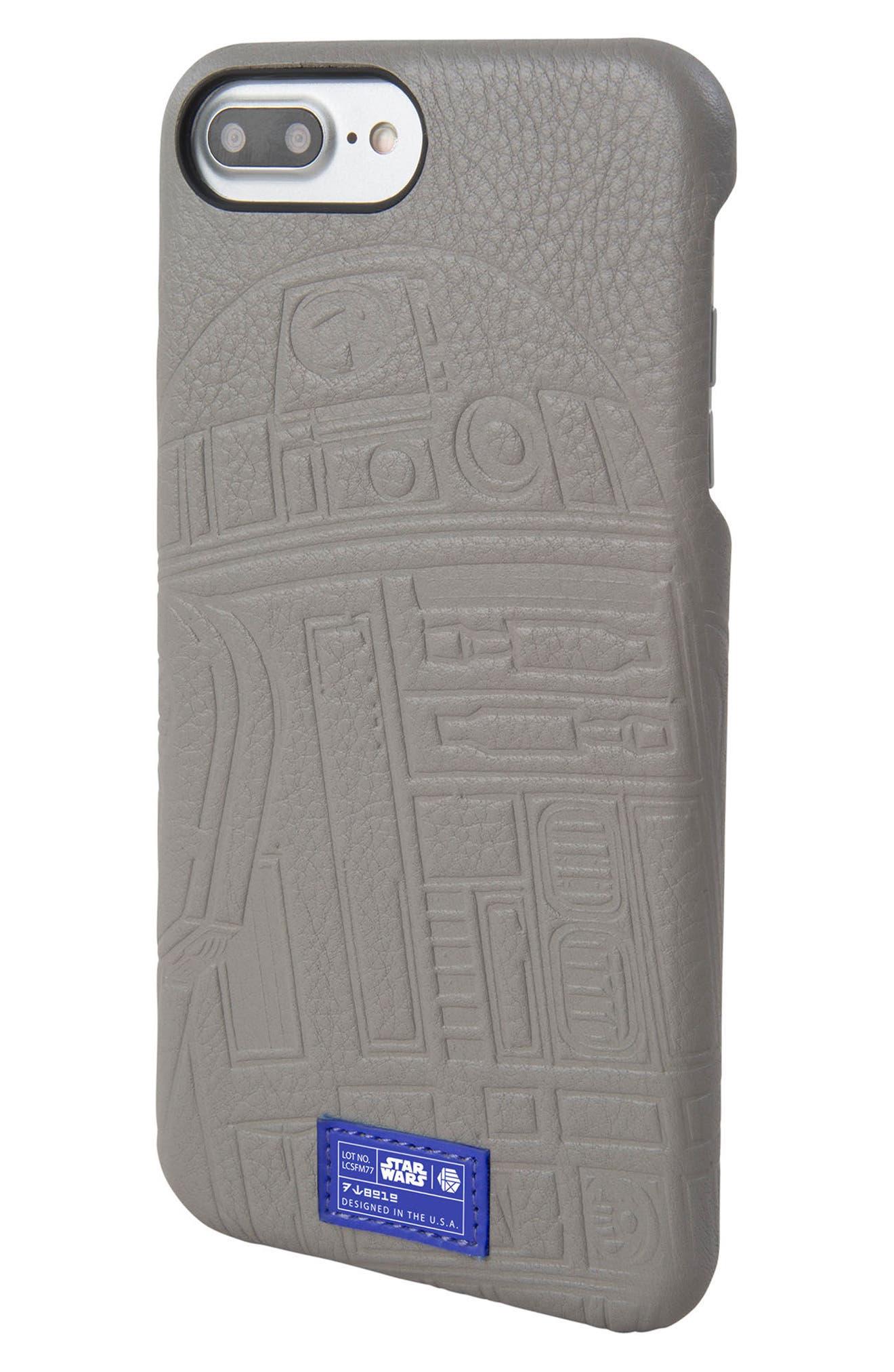 R2-D2 iPhone 6/6s/7/8 Plus Case,                         Main,                         color, Grey