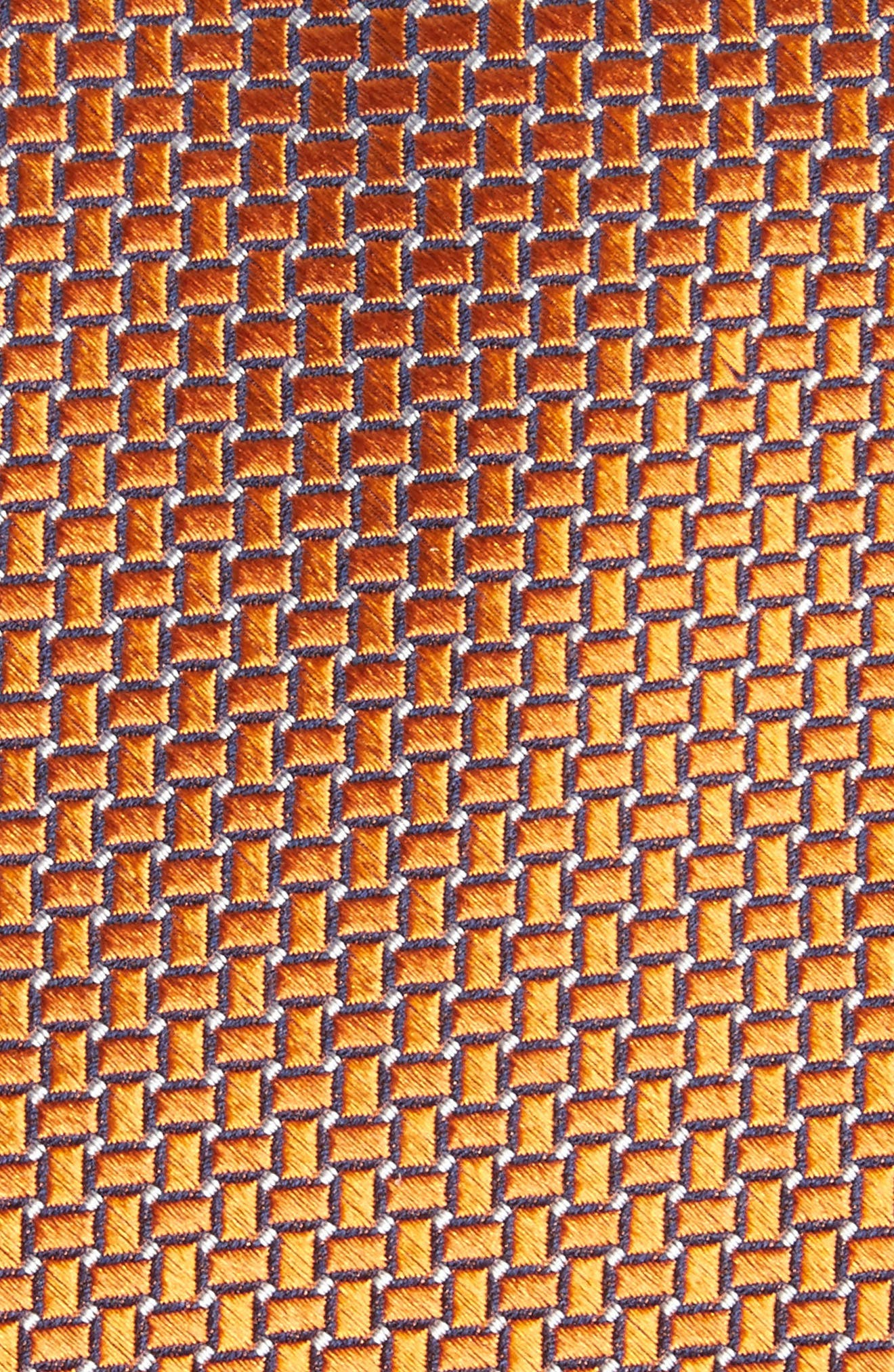 Alternate Image 2  - Nordstrom Men's Shop Geometric Silk Tie