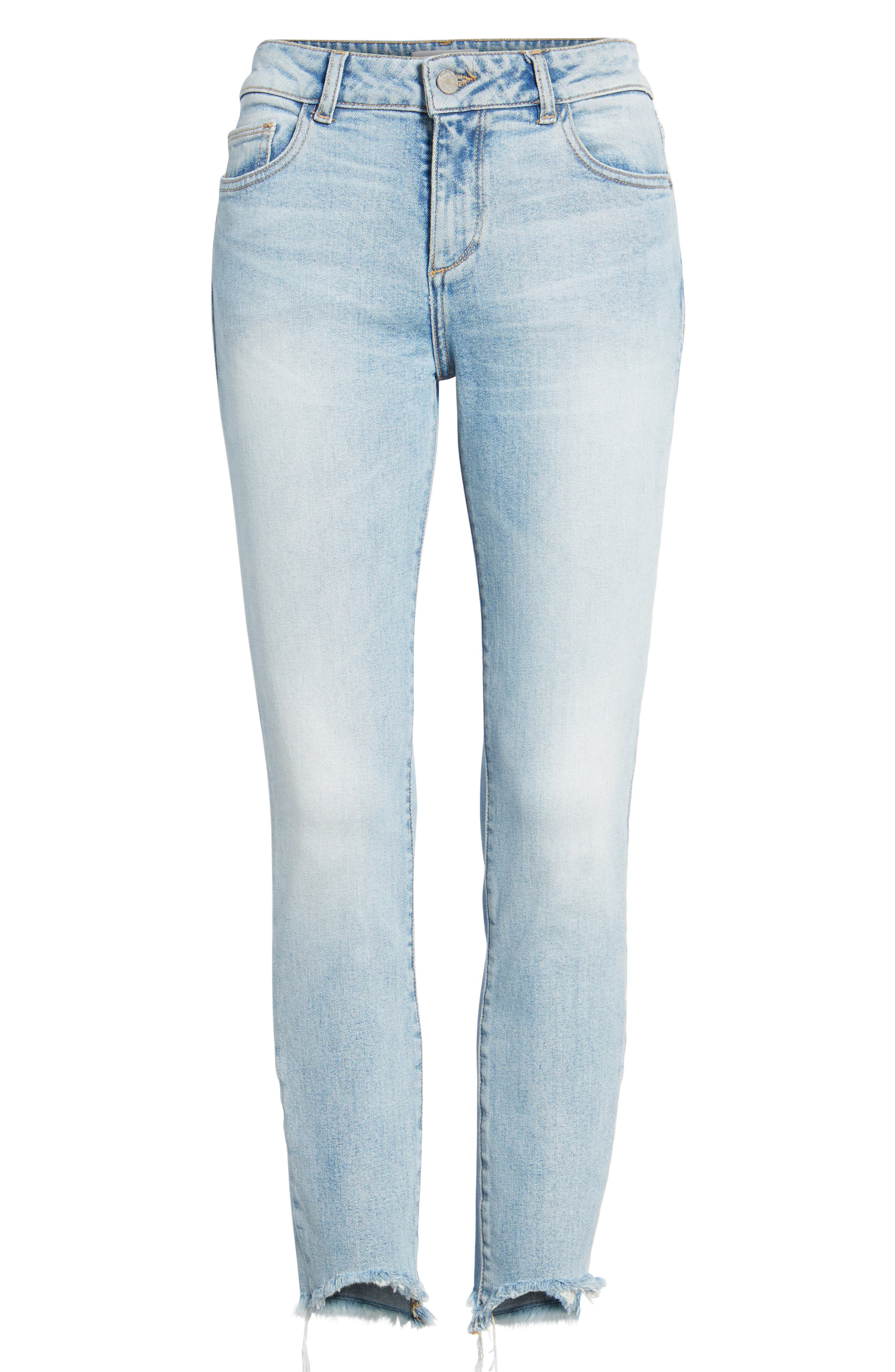 Margaux Instasculpt Ankle Skinny Jeans,                             Alternate thumbnail 7, color,                             Promenade