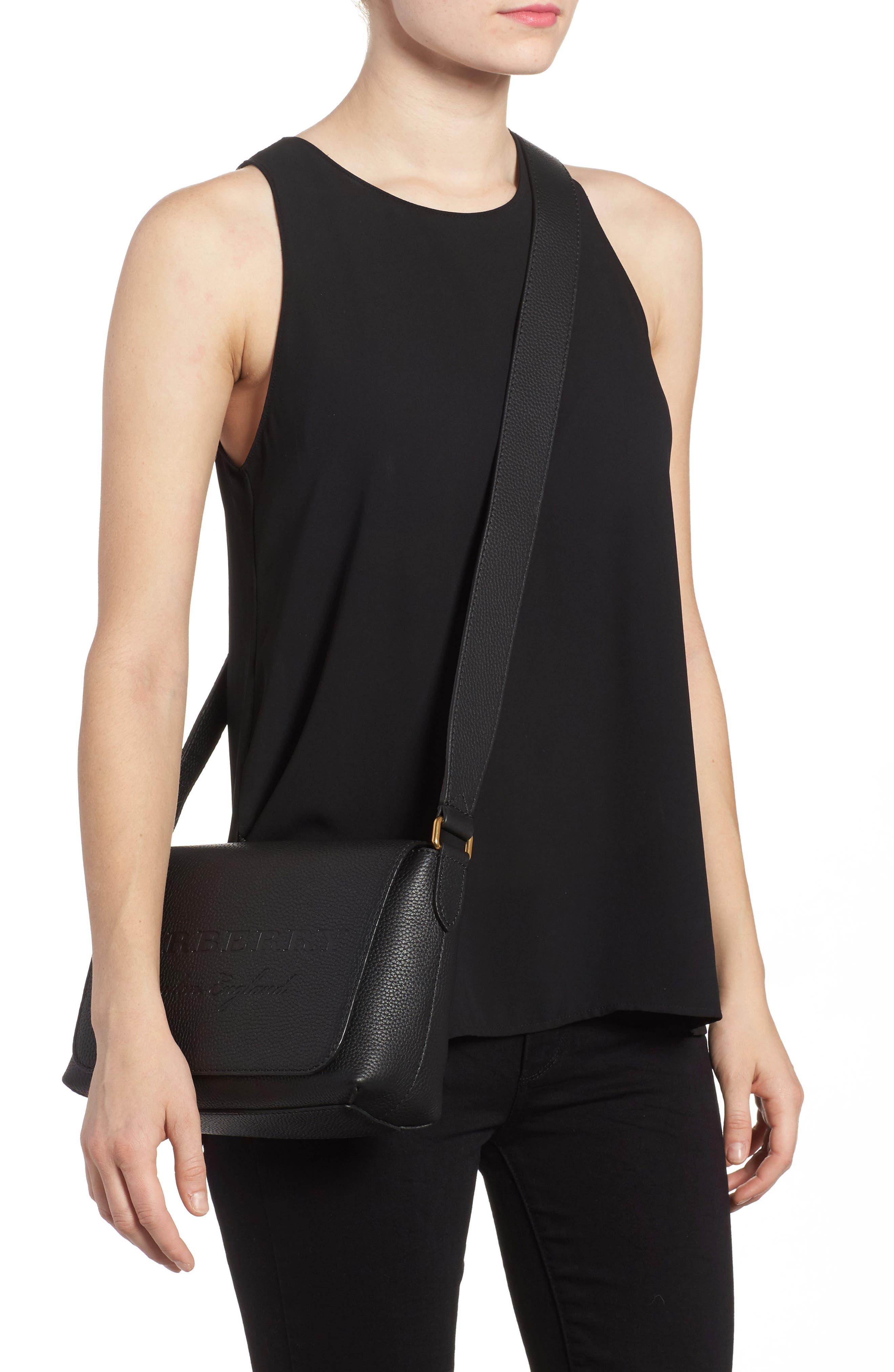 Alternate Image 2  - Burberry Small Burleigh Leather Crossbody Bag