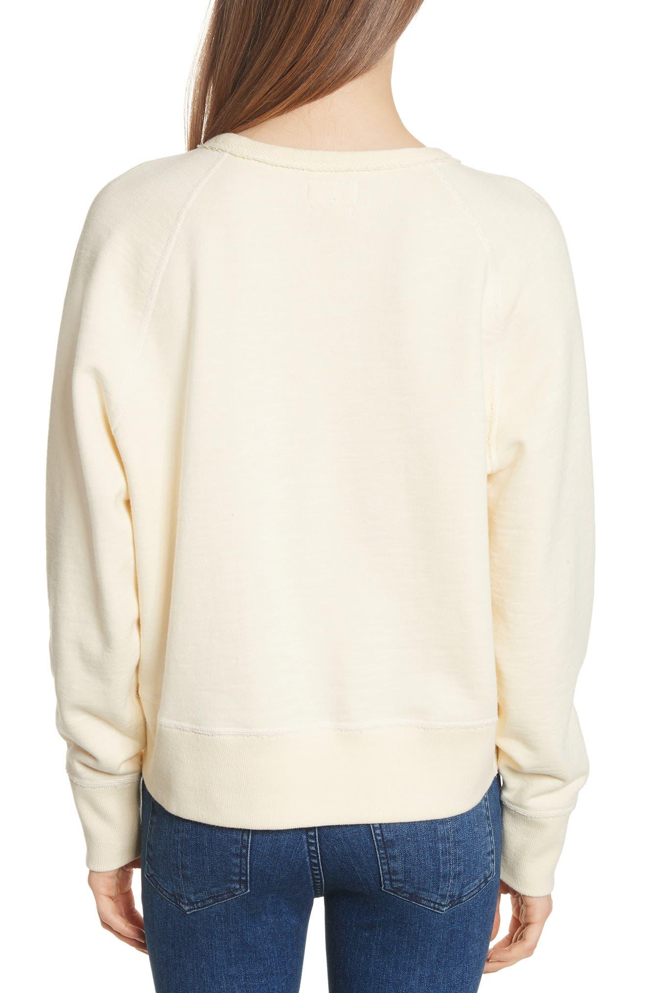 Alternate Image 2  - rag & bone/JEAN The Raglan Sweatshirt