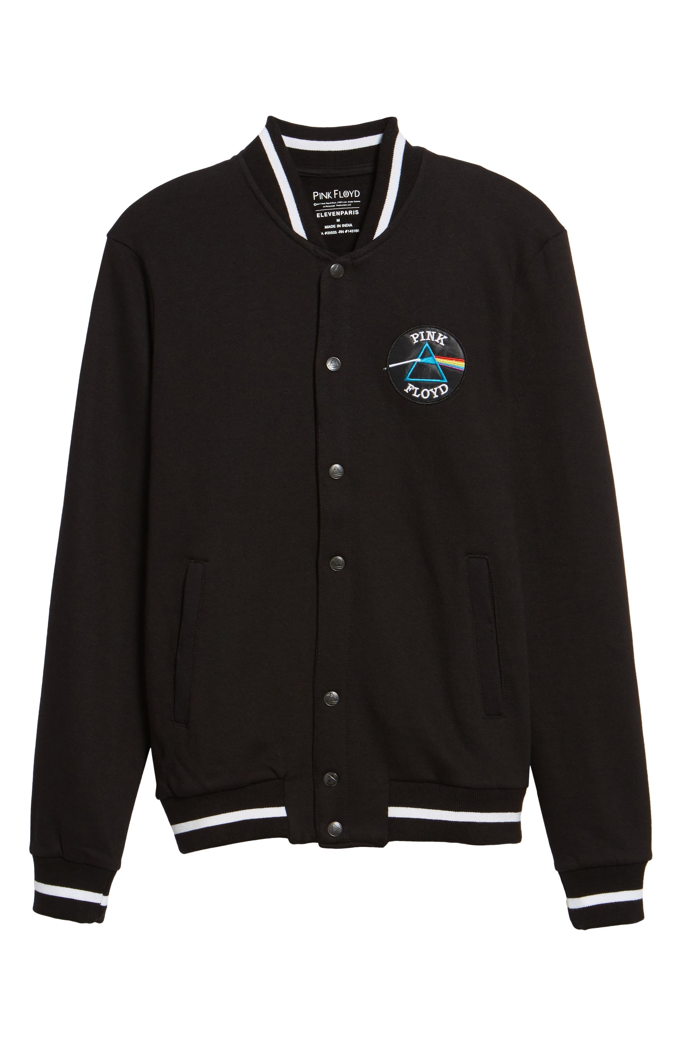 Neptune Track Jacket,                             Alternate thumbnail 6, color,                             Black