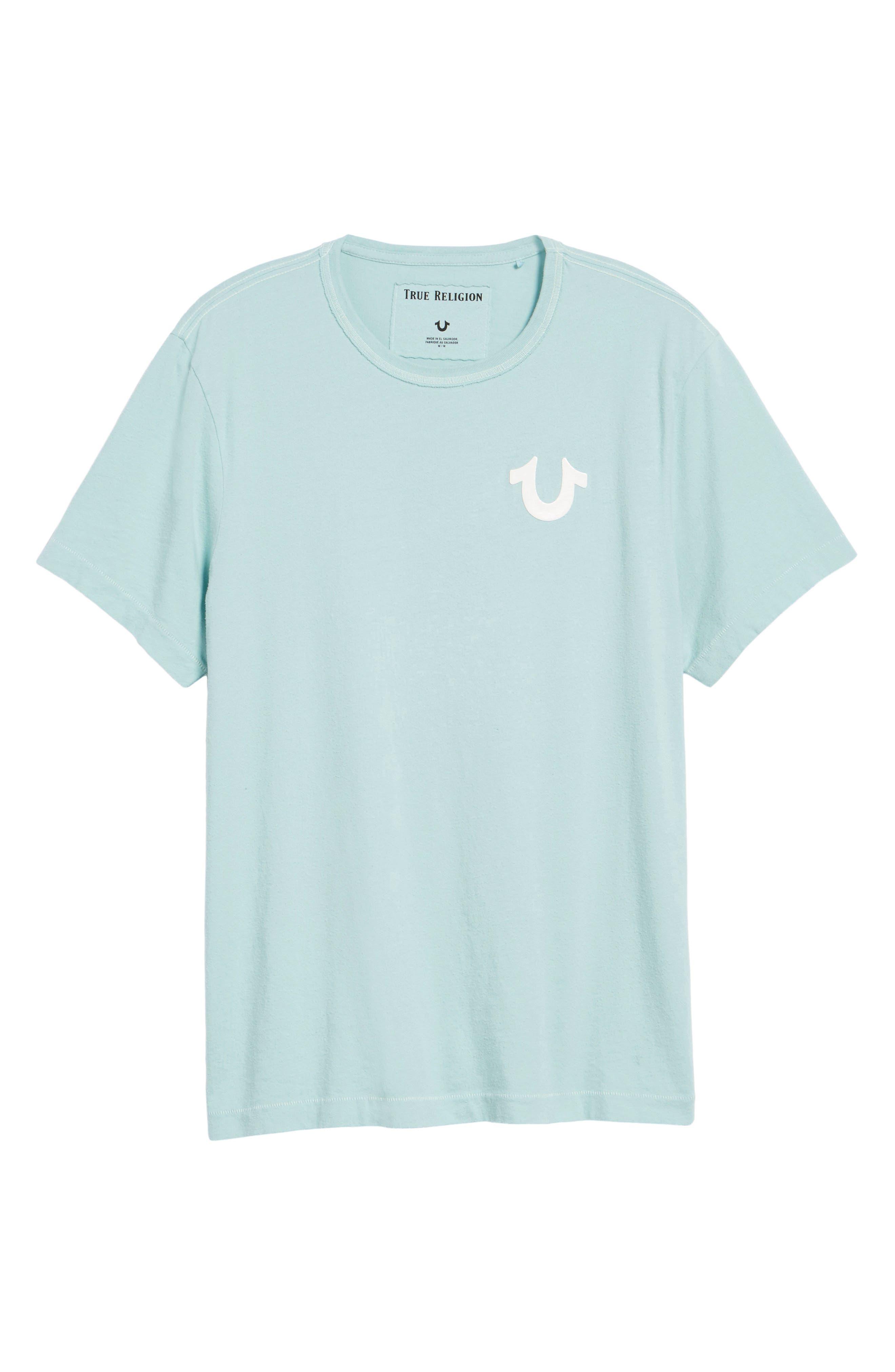 Core T-Shirt,                             Alternate thumbnail 6, color,                             Pale Blue