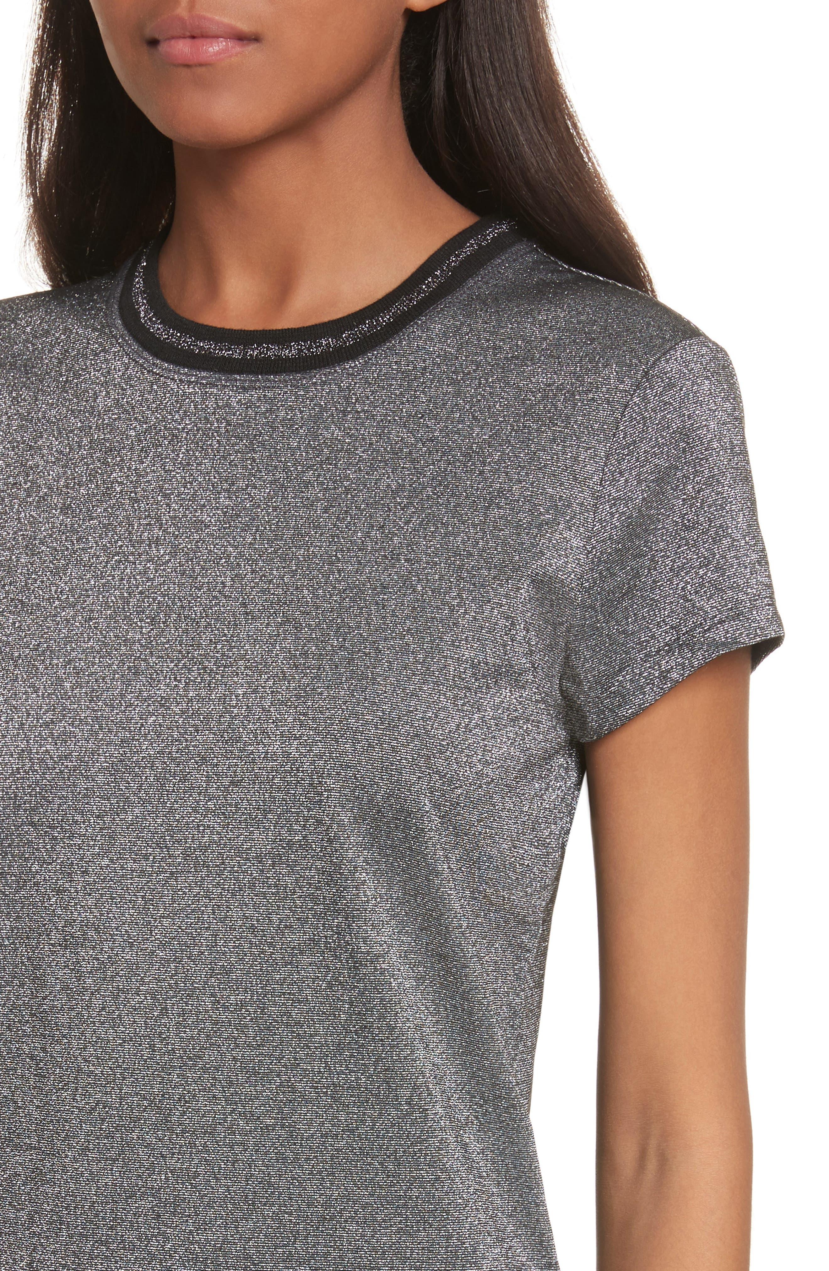 Alternate Image 4  - Ted Baker London Glitter Shirt
