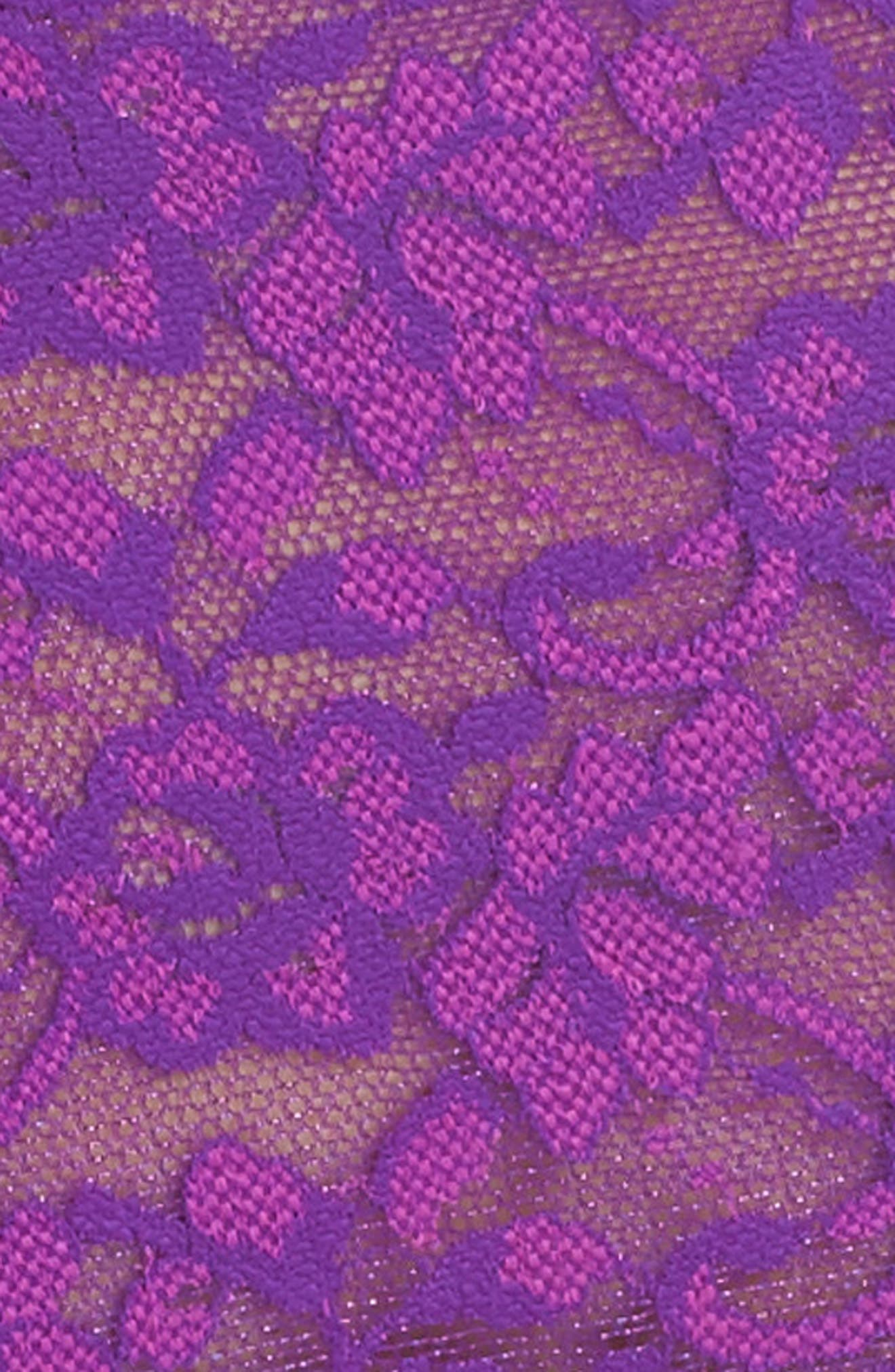 Alternate Image 4  - Hanky Panky Cross Dye Lace Retro Vikini