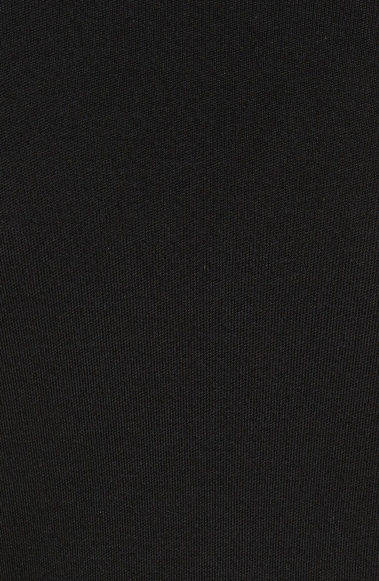 Cashmere Cardigan,                             Alternate thumbnail 5, color,                             Black