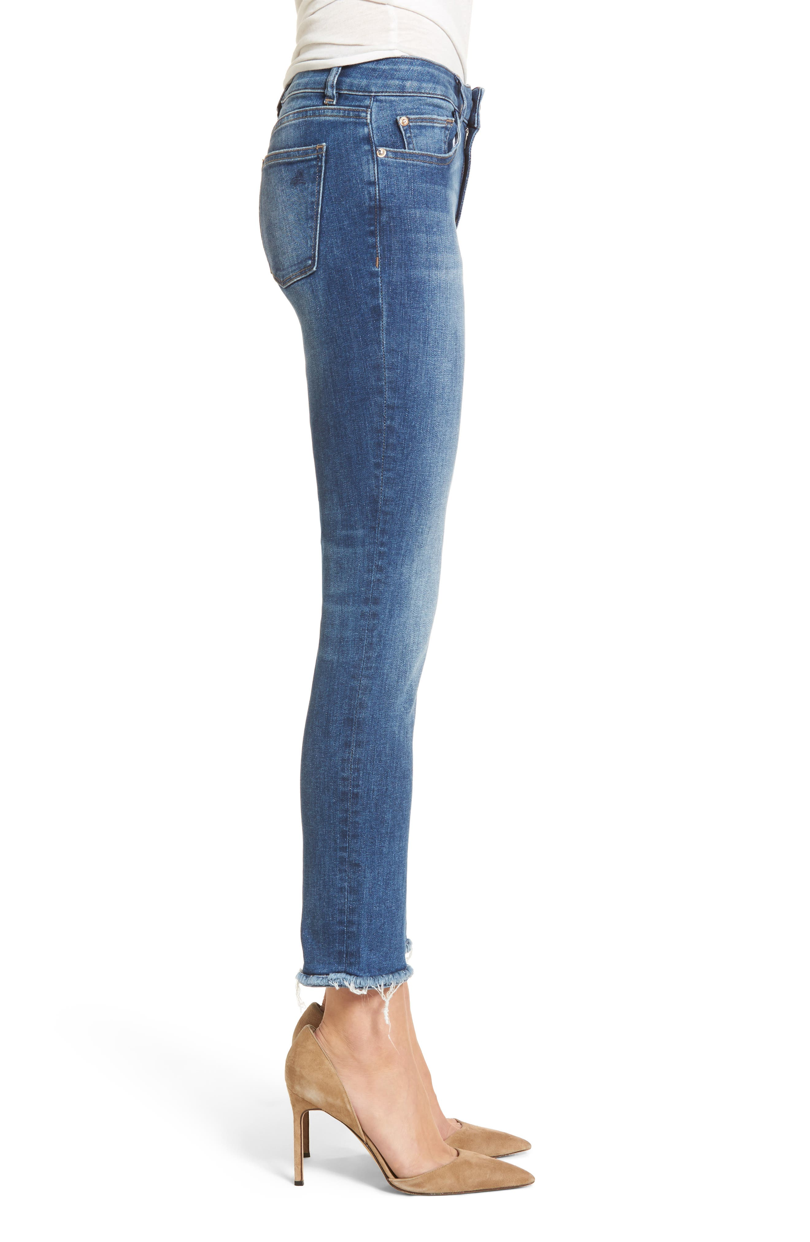 Mara Ankle Straight Leg Jeans,                             Alternate thumbnail 3, color,                             Fillmore