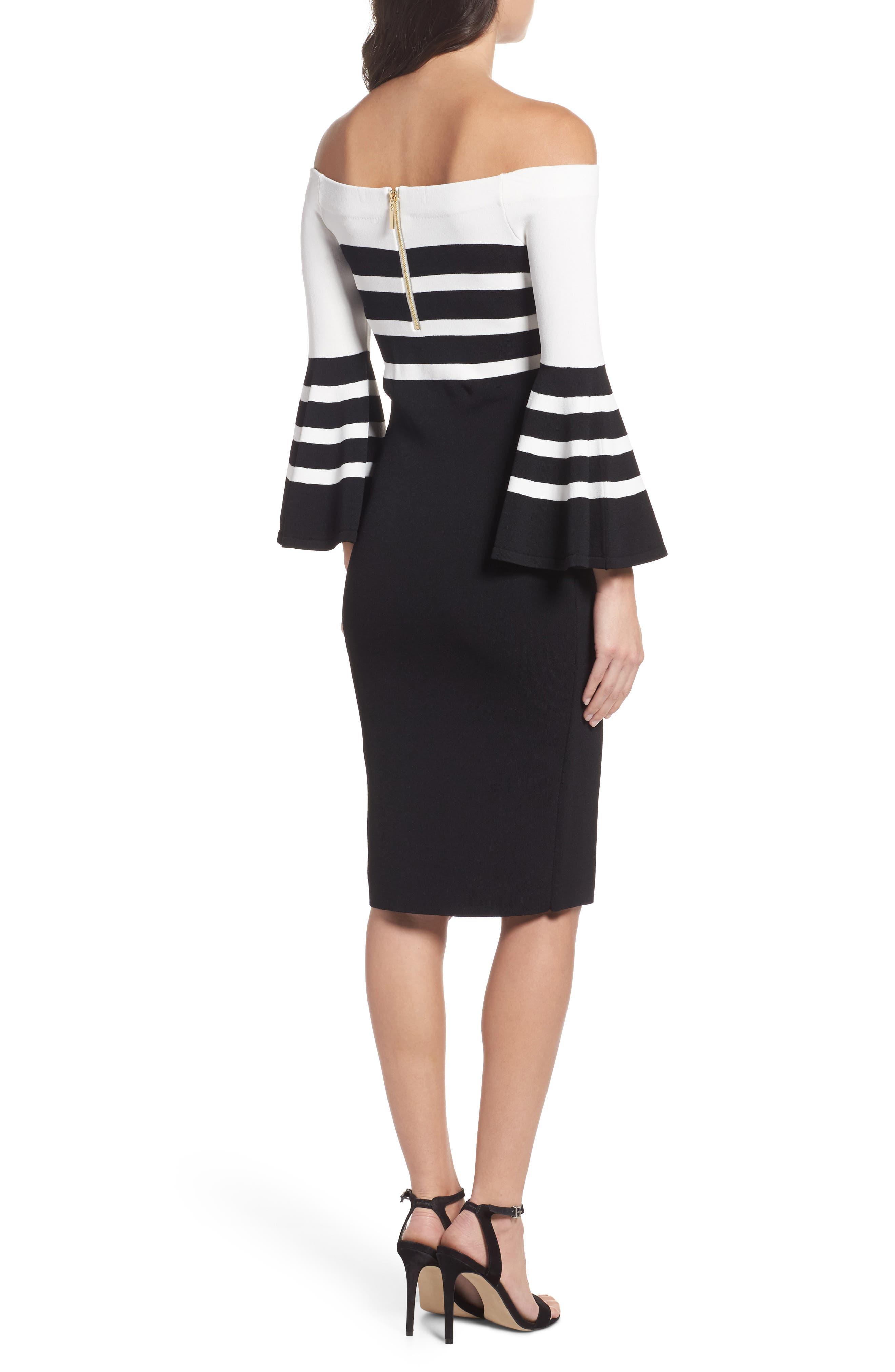 Alternate Image 2  - Chelsea28 Off the Shoulder Sweater Dress