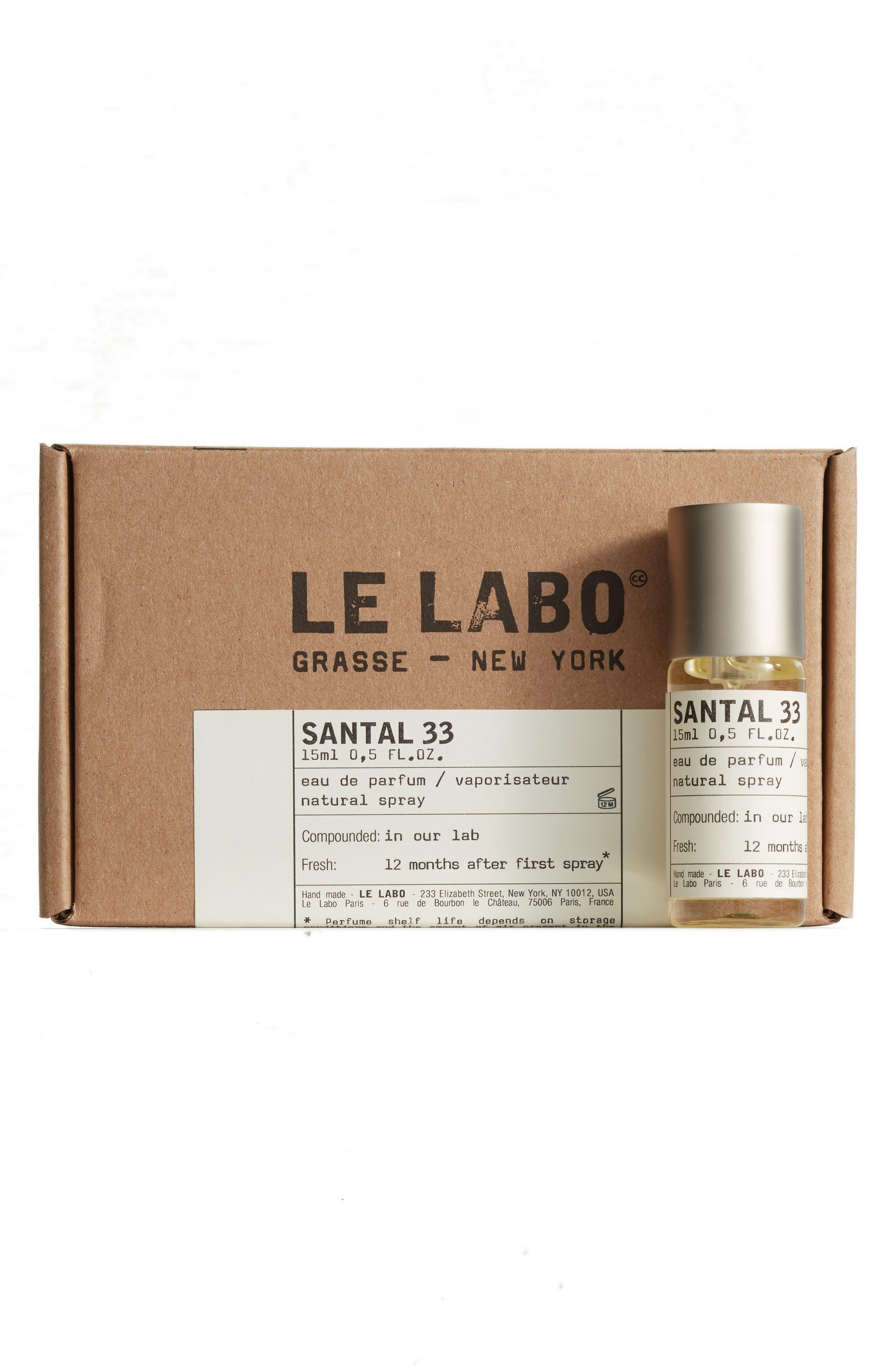 Santal 33 Eau de Parfum Natural Spray,                             Alternate thumbnail 4, color,                             No Color
