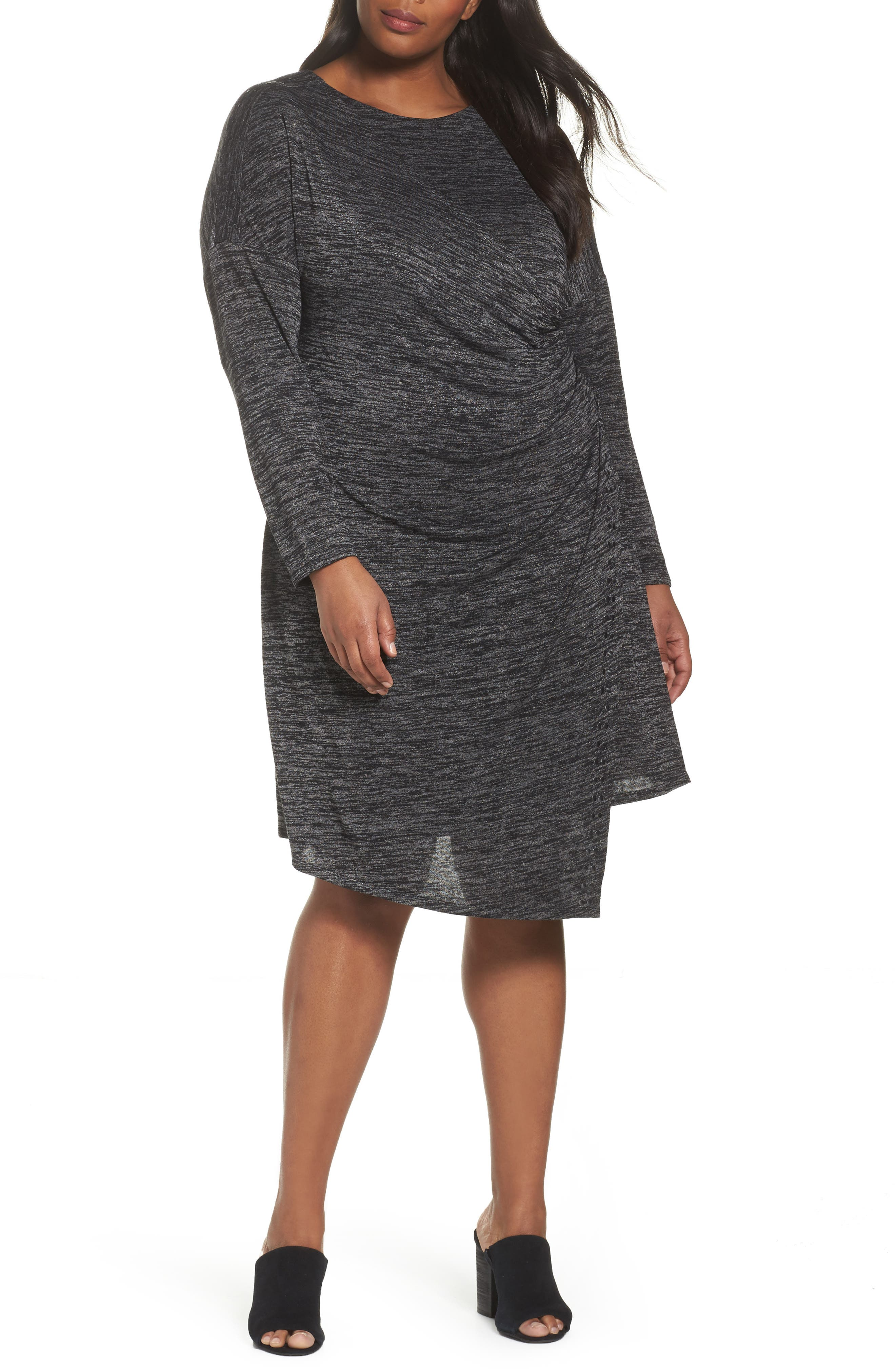 NIC+ZOE Every Occasion Studded Dress (Plus Size)