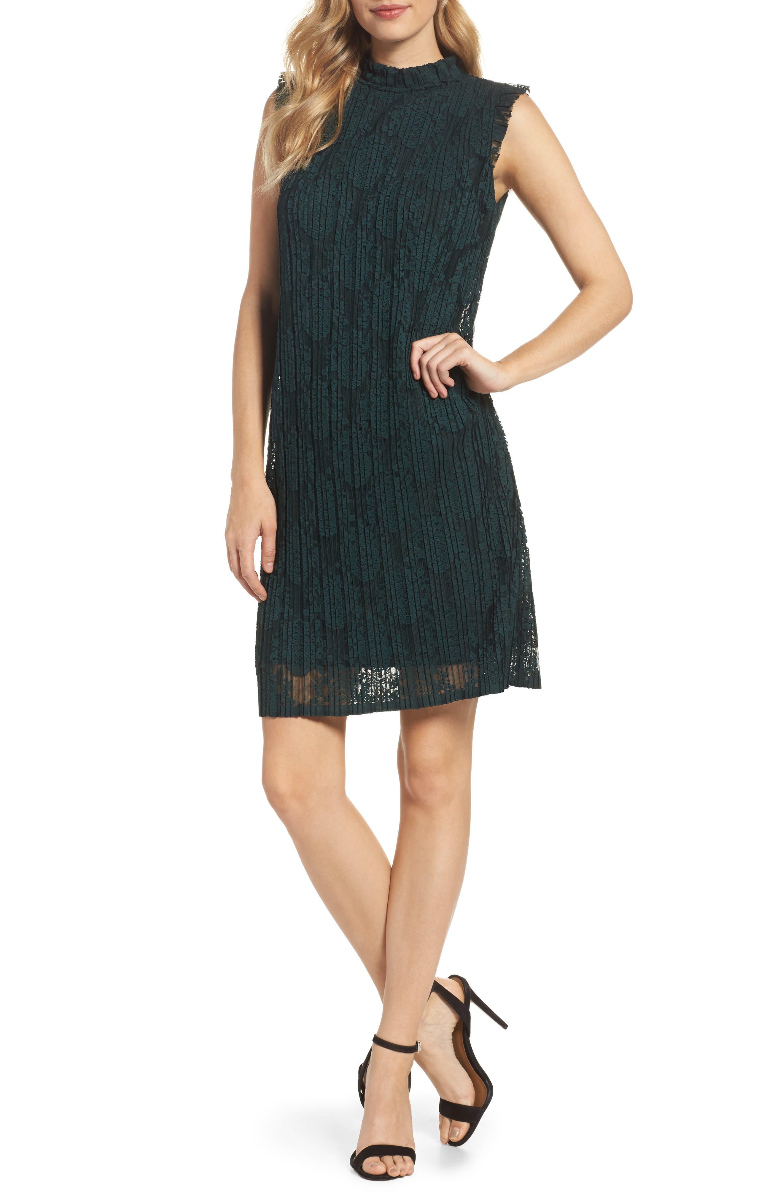 Main Image - Julia Jordan Sleeveless Shift Dress