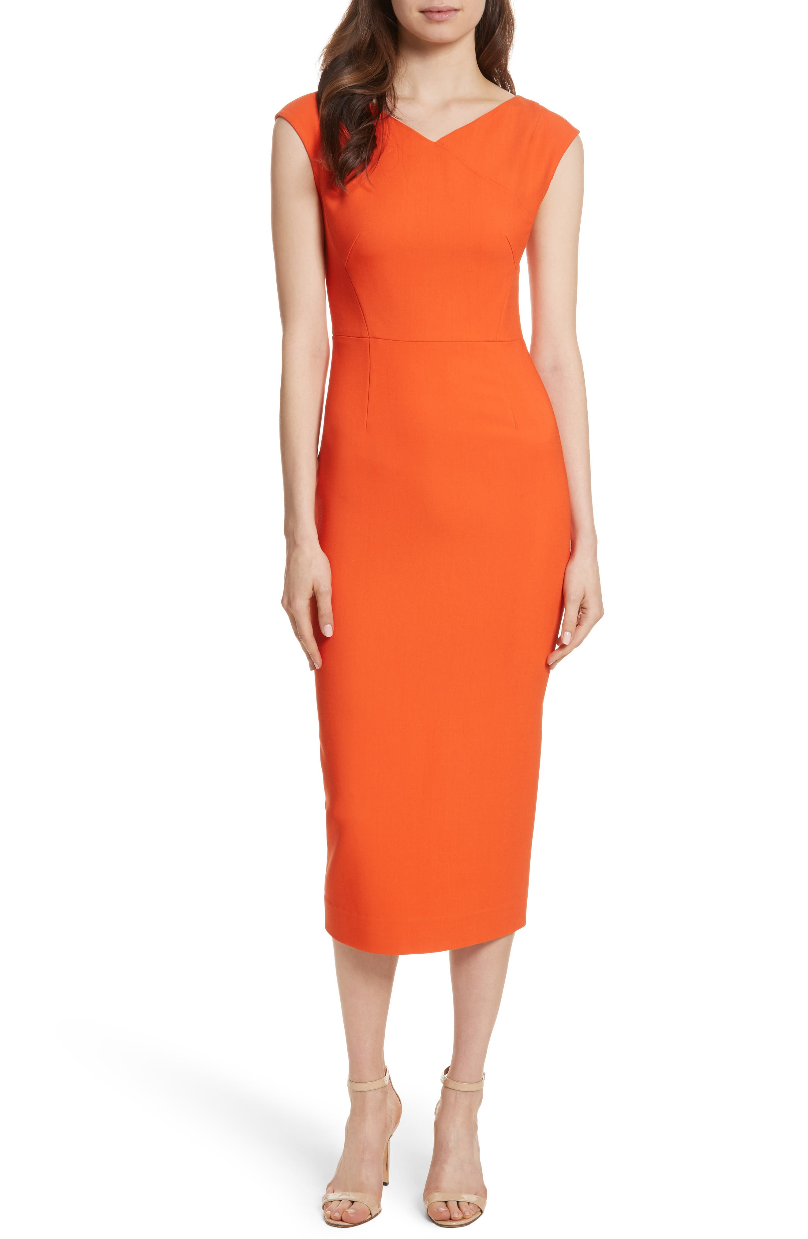 Diane von Furstenberg Midi Sheath Dress