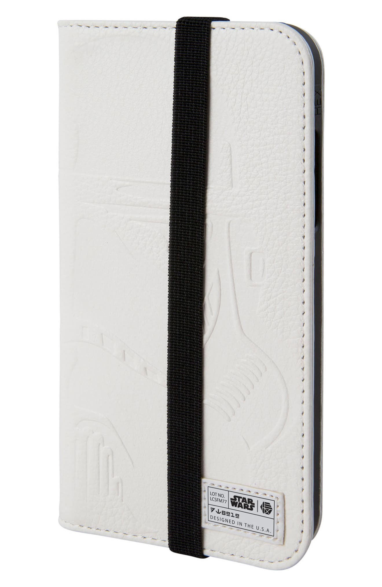 Alternate Image 1 Selected - HEX Stormtrooper iPhone X Wallet Case